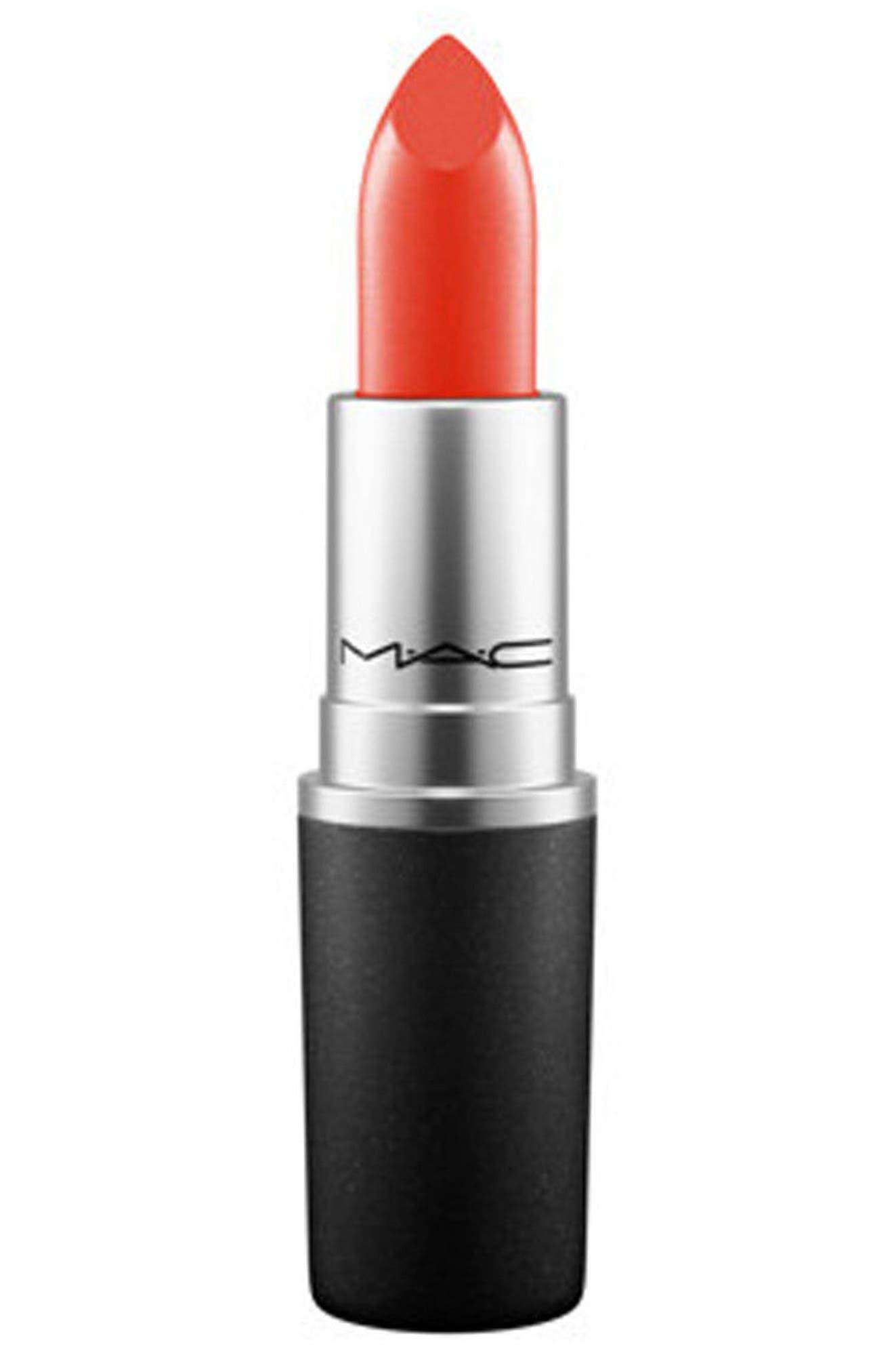 MAC COSMETICS,                             MAC Coral Lipstick,                             Main thumbnail 1, color,                             TROPIC TONIC (M)