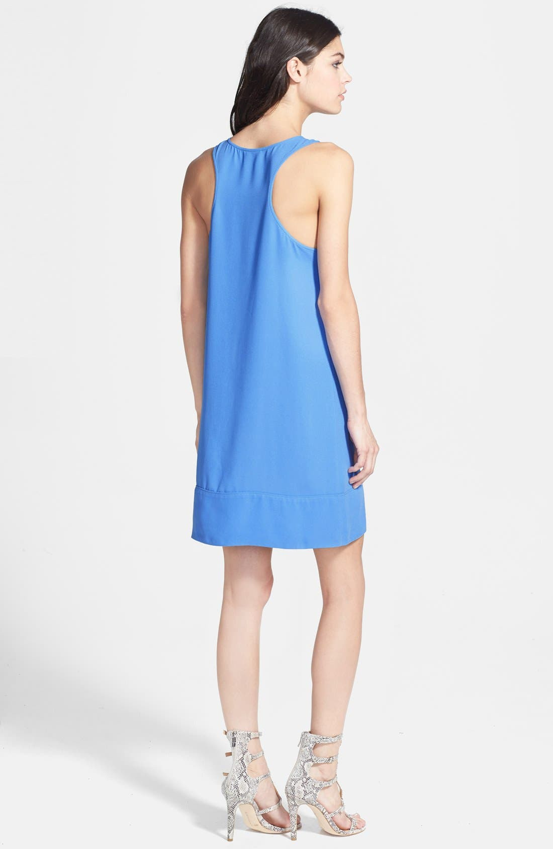 Racerback Shift Dress,                             Alternate thumbnail 70, color,