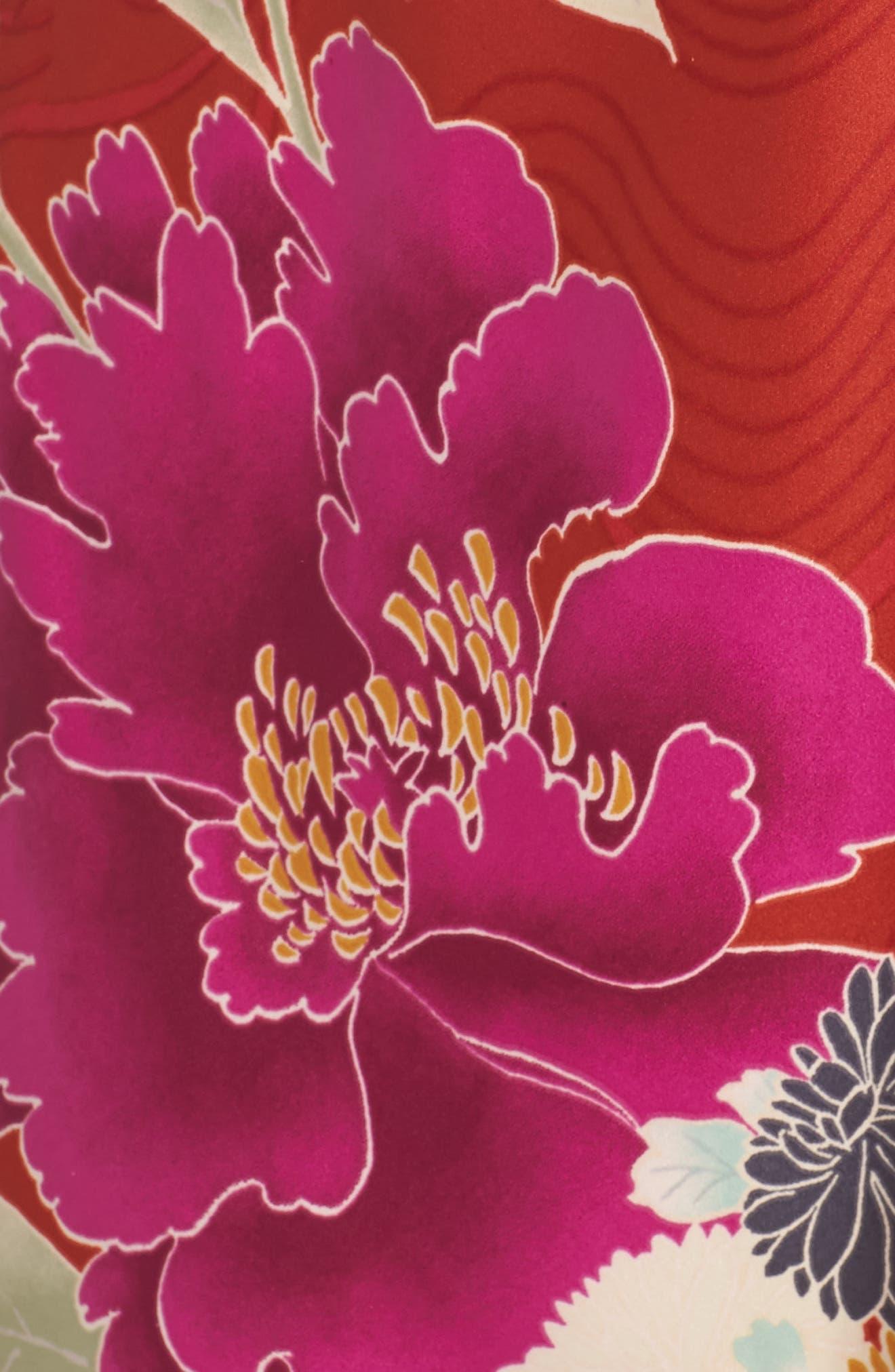Auburn Flora Chemise,                             Alternate thumbnail 5, color,