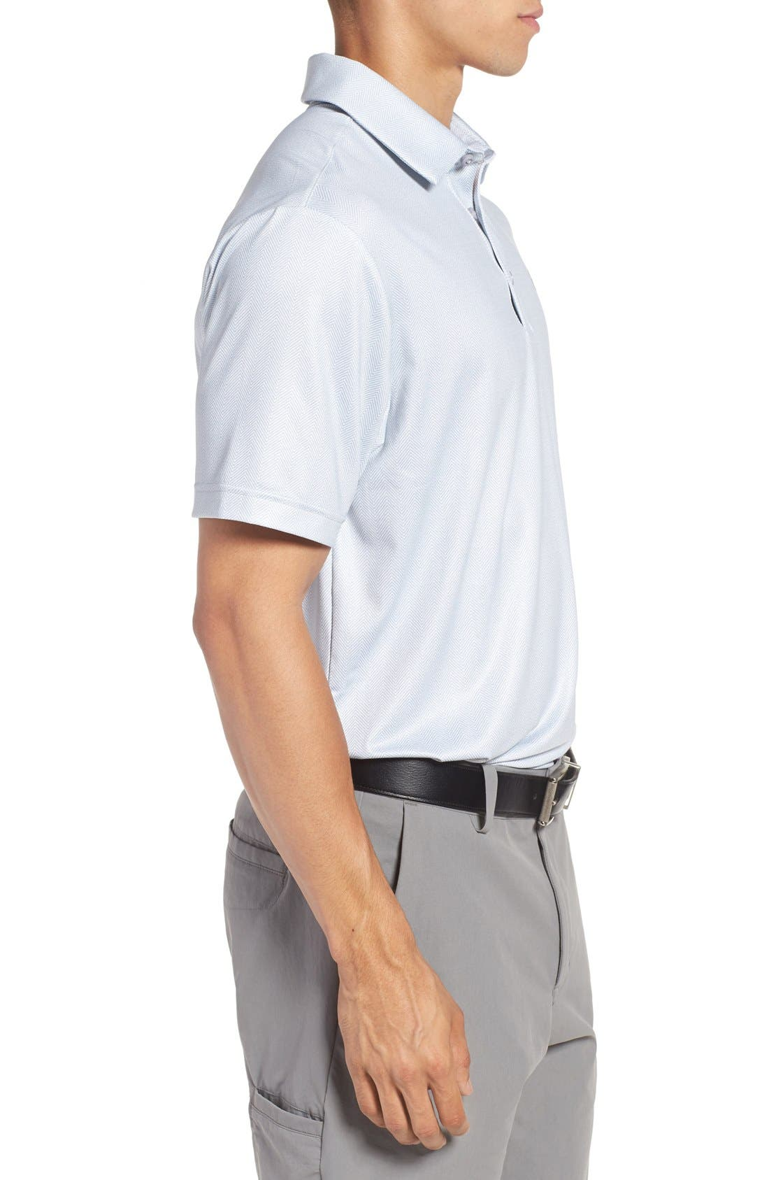 'Playoff' Loose Fit Short Sleeve Polo,                             Alternate thumbnail 192, color,