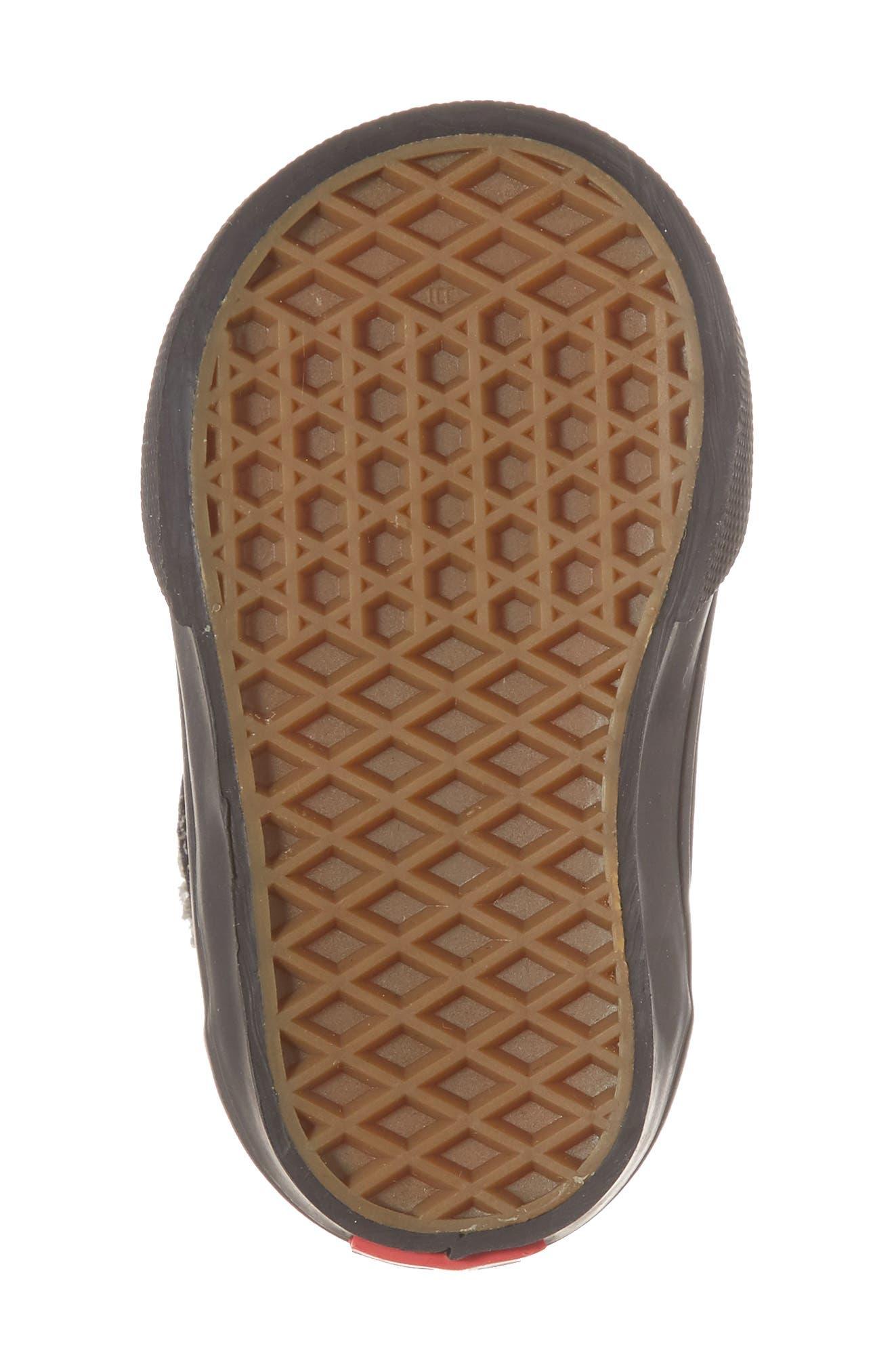 Half Cab Sneaker,                             Alternate thumbnail 6, color,                             001