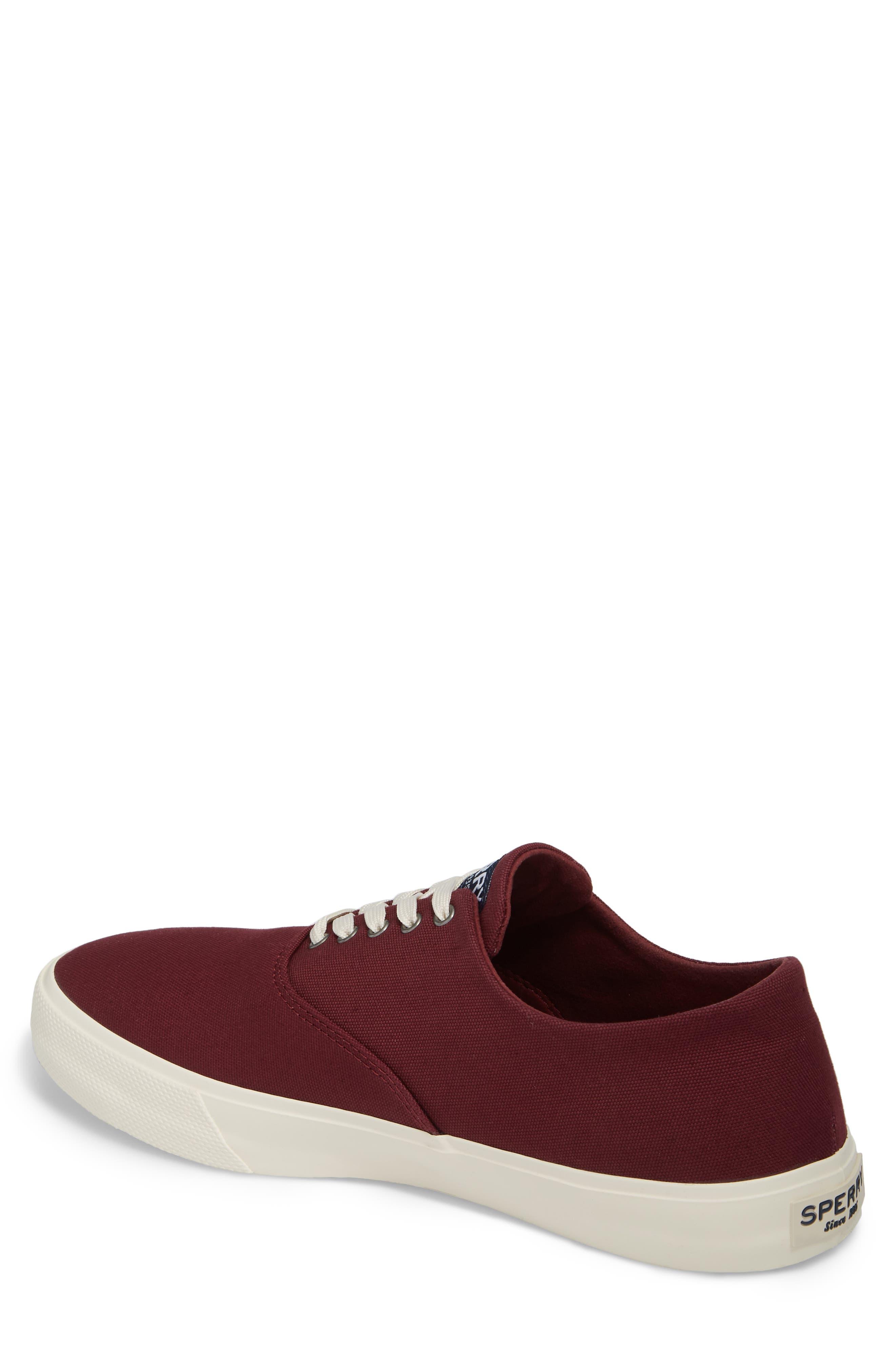 Captain's CVO Sneaker,                             Alternate thumbnail 2, color,                             WINE FABRIC