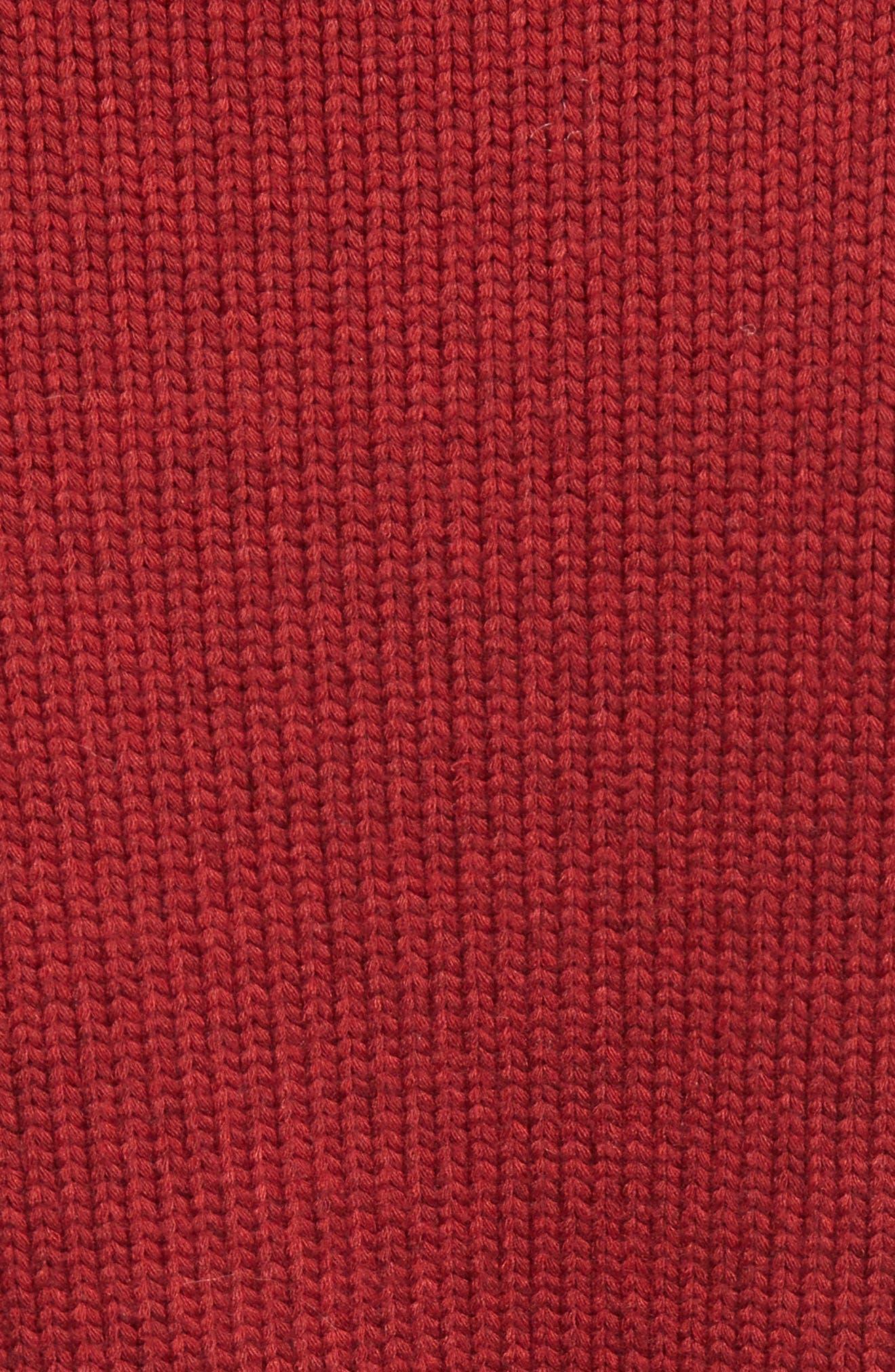 Bobble Knit Sweater,                             Alternate thumbnail 5, color,                             620