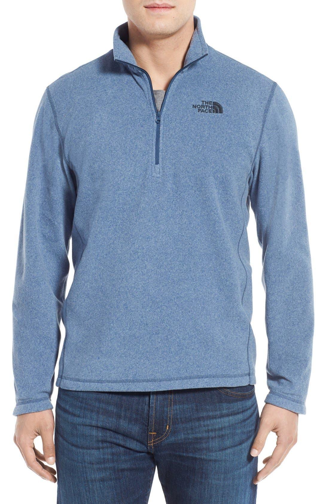 'TKA 100 Glacier' Quarter Zip Fleece Pullover,                             Main thumbnail 37, color,