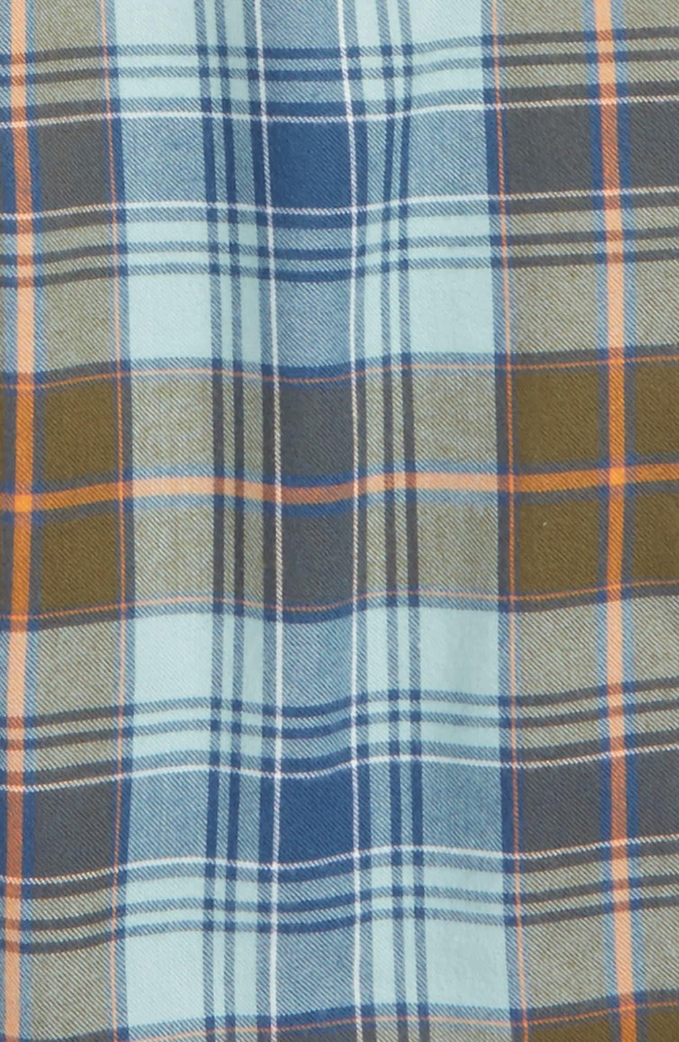 Plaid Flannel Pants,                             Main thumbnail 10, color,
