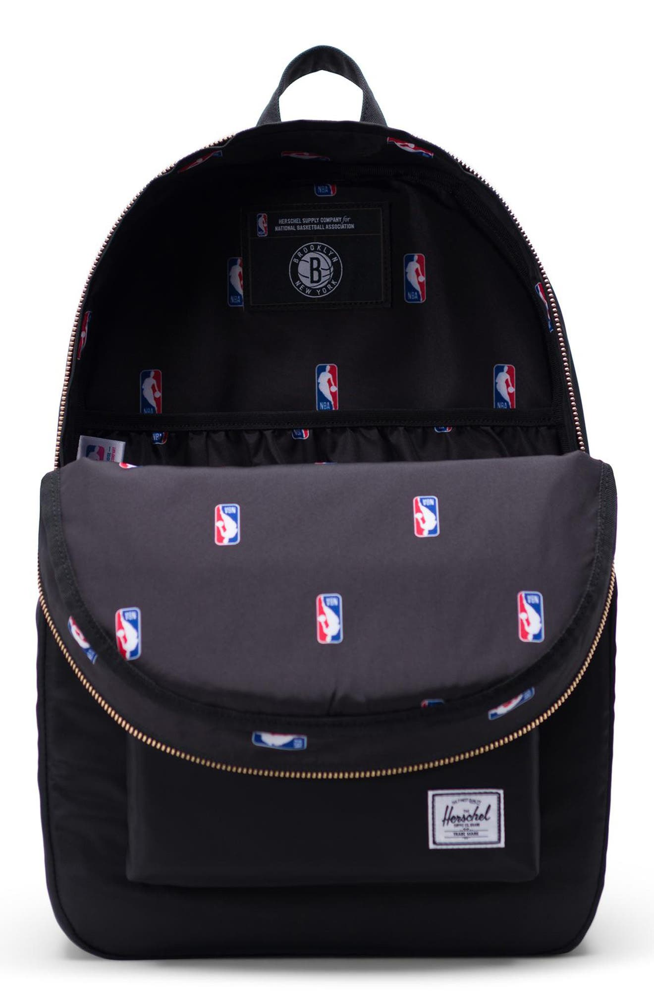Settlement - NBA Champion Backpack,                             Alternate thumbnail 3, color,                             BROOKLYN NETS