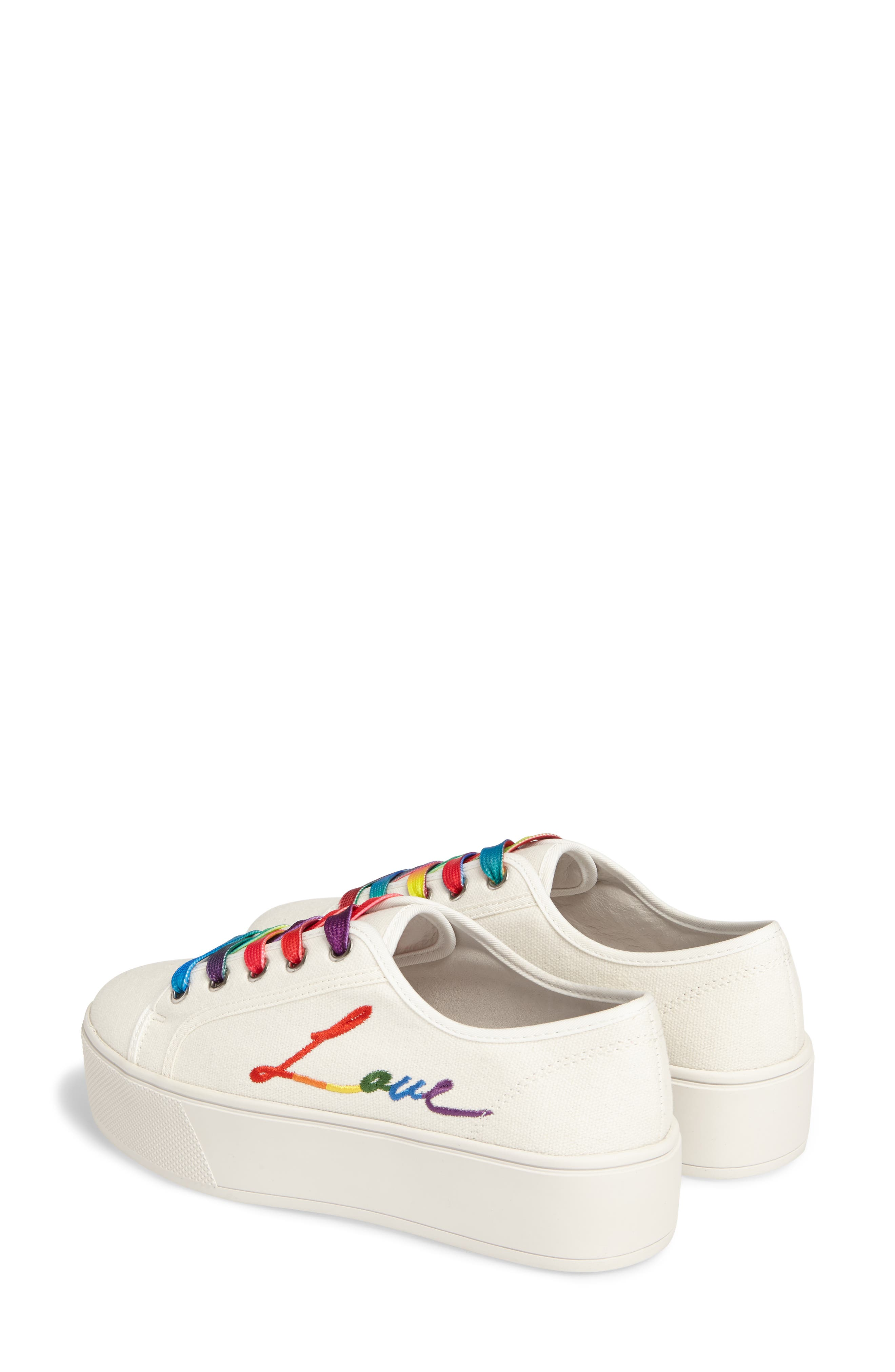 Fink Platform Sneaker,                             Alternate thumbnail 4, color,