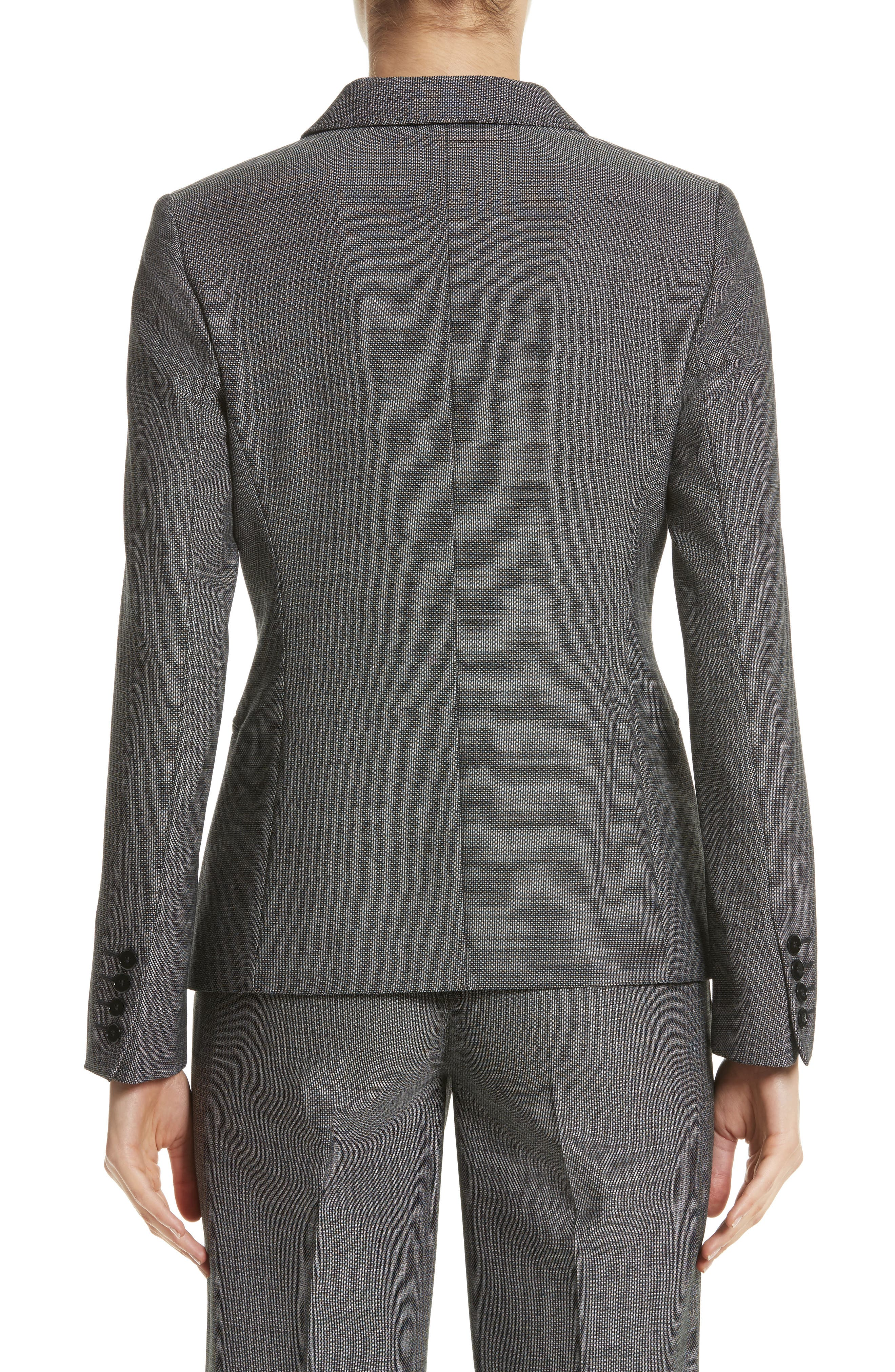 Zac Stretch Wool Blazer,                             Alternate thumbnail 2, color,                             001