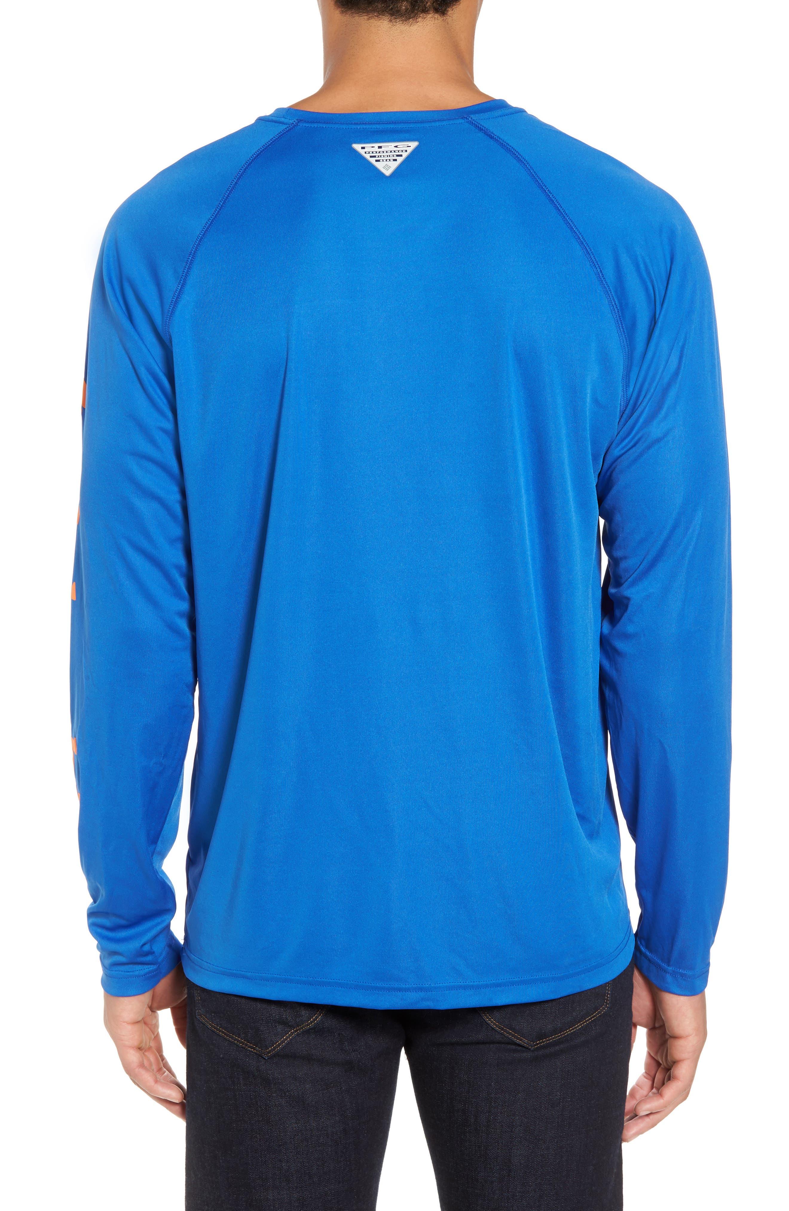 PFG Terminal Tackle Performance Long Sleeve T-Shirt,                             Alternate thumbnail 13, color,