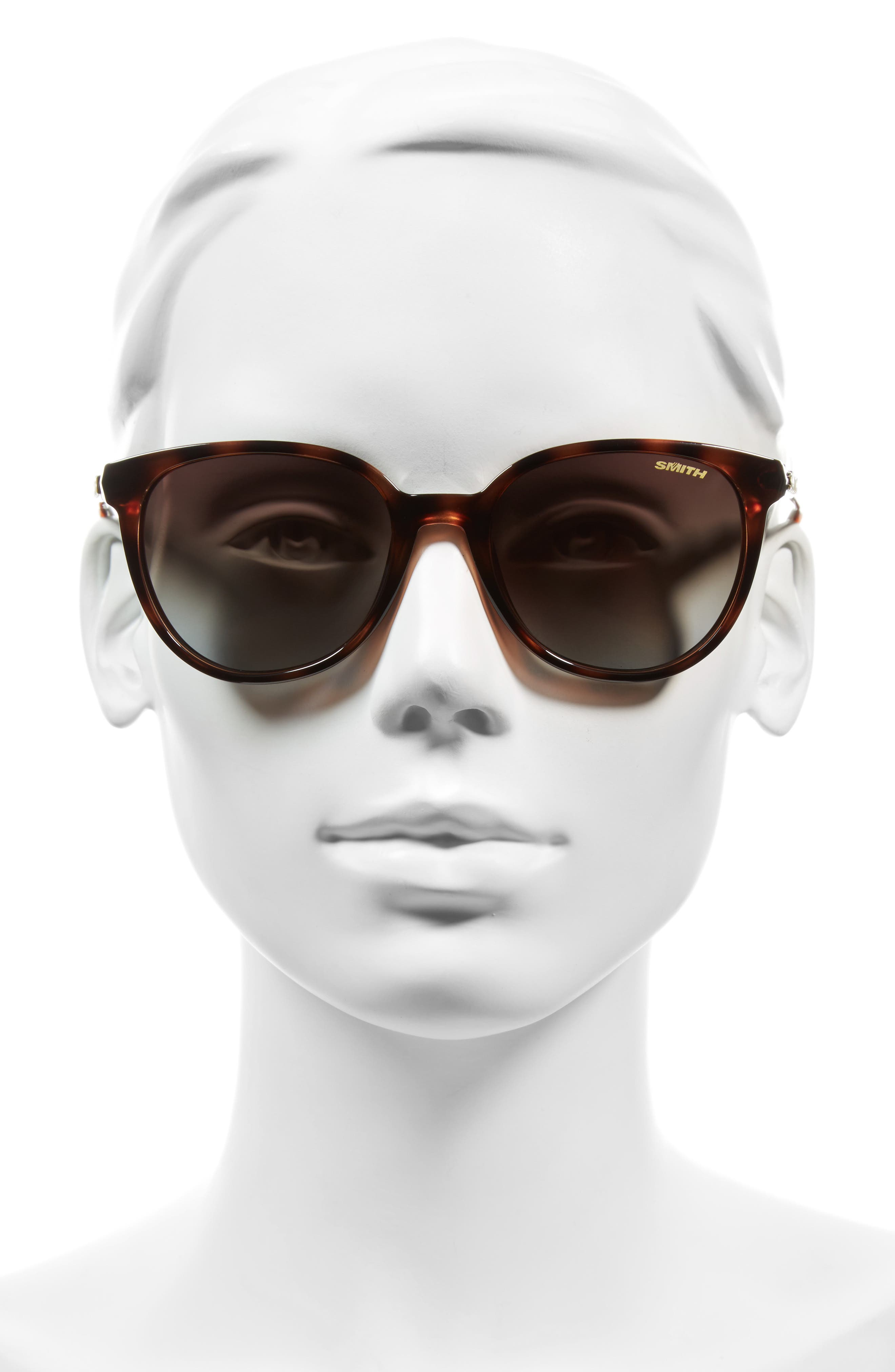 Cheetah 54mm Polarized Sunglasses,                             Alternate thumbnail 3, color,                             TORTOISE