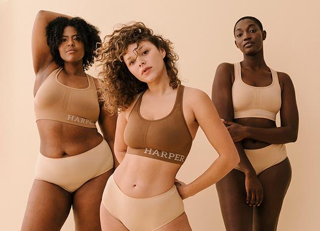 Women in Harper Wilde bras.