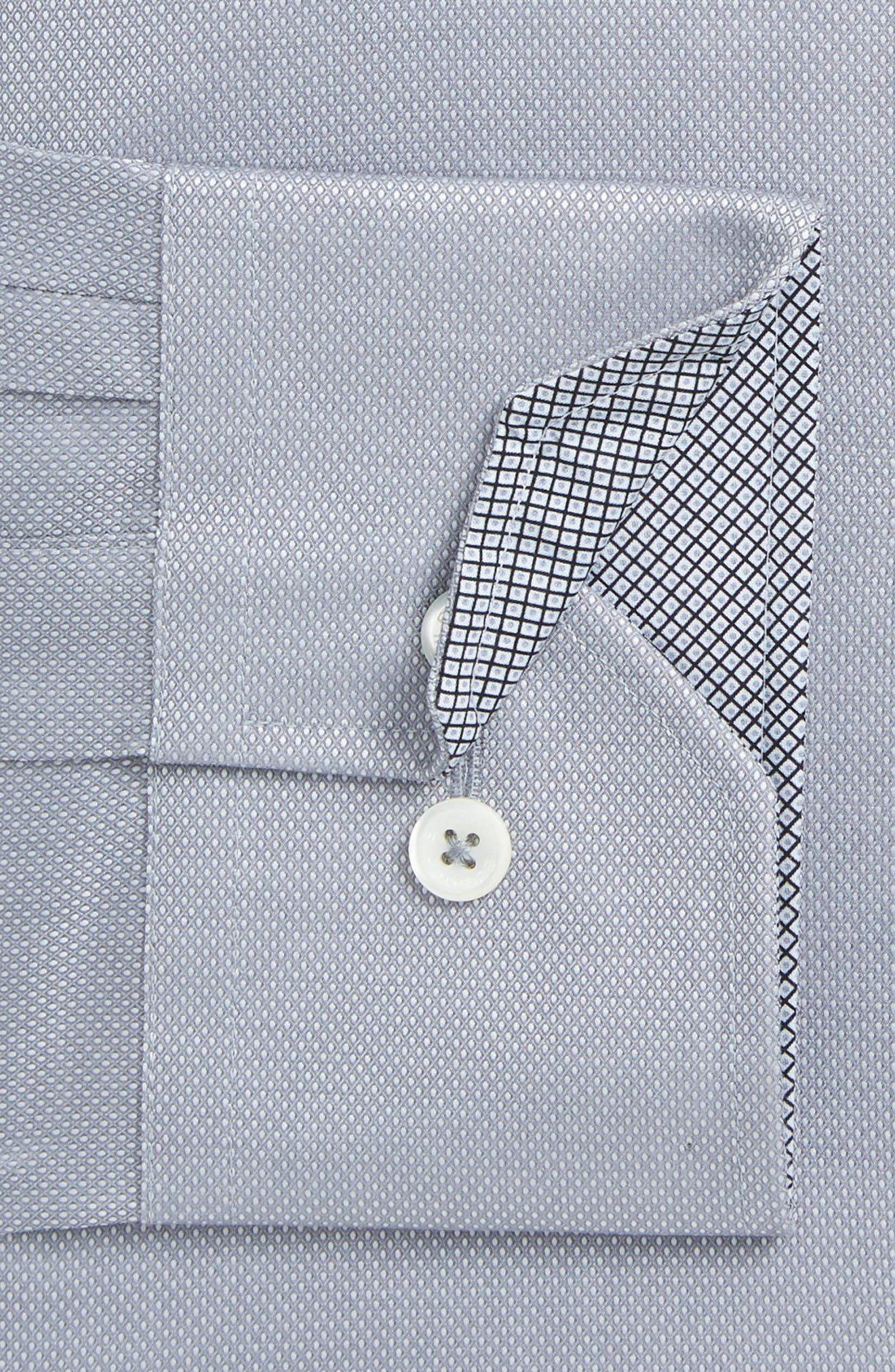 Trim Fit Solid Dress Shirt,                         Main,                         color, 020