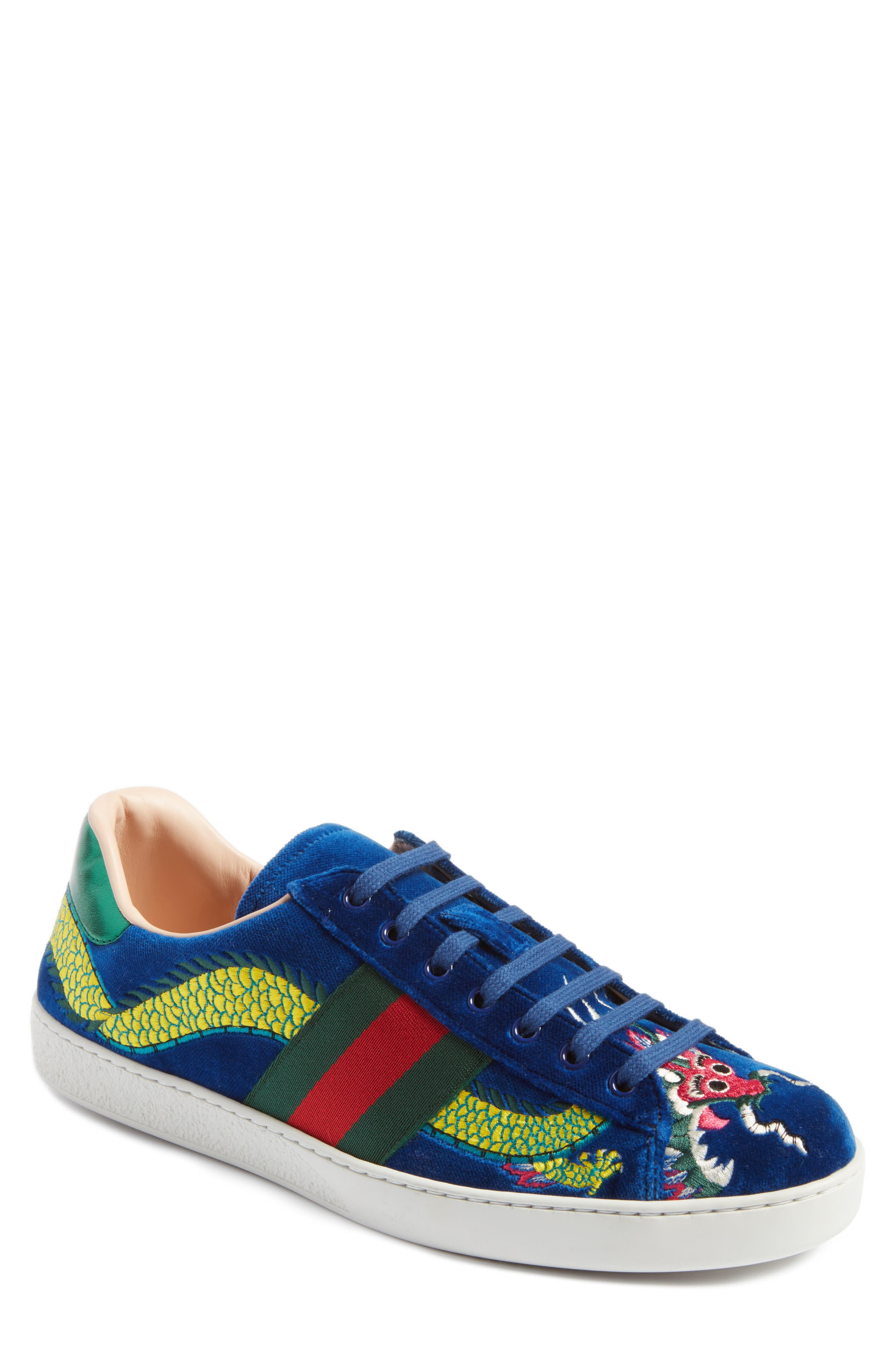 New Ace Dragon Sneaker, Main, color, 493