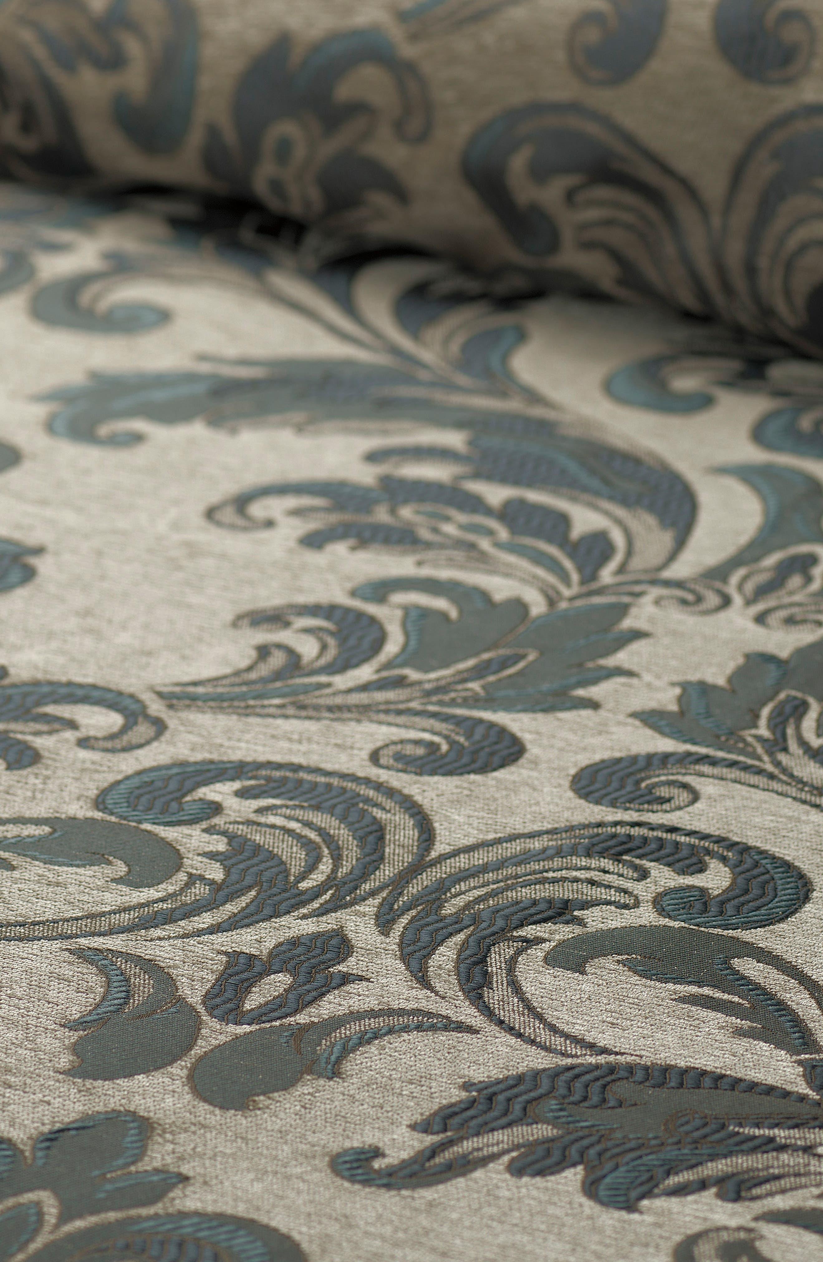 Everett Reversible Comforter, Sham & Bed Skirt Set,                             Alternate thumbnail 2, color,                             TEAL