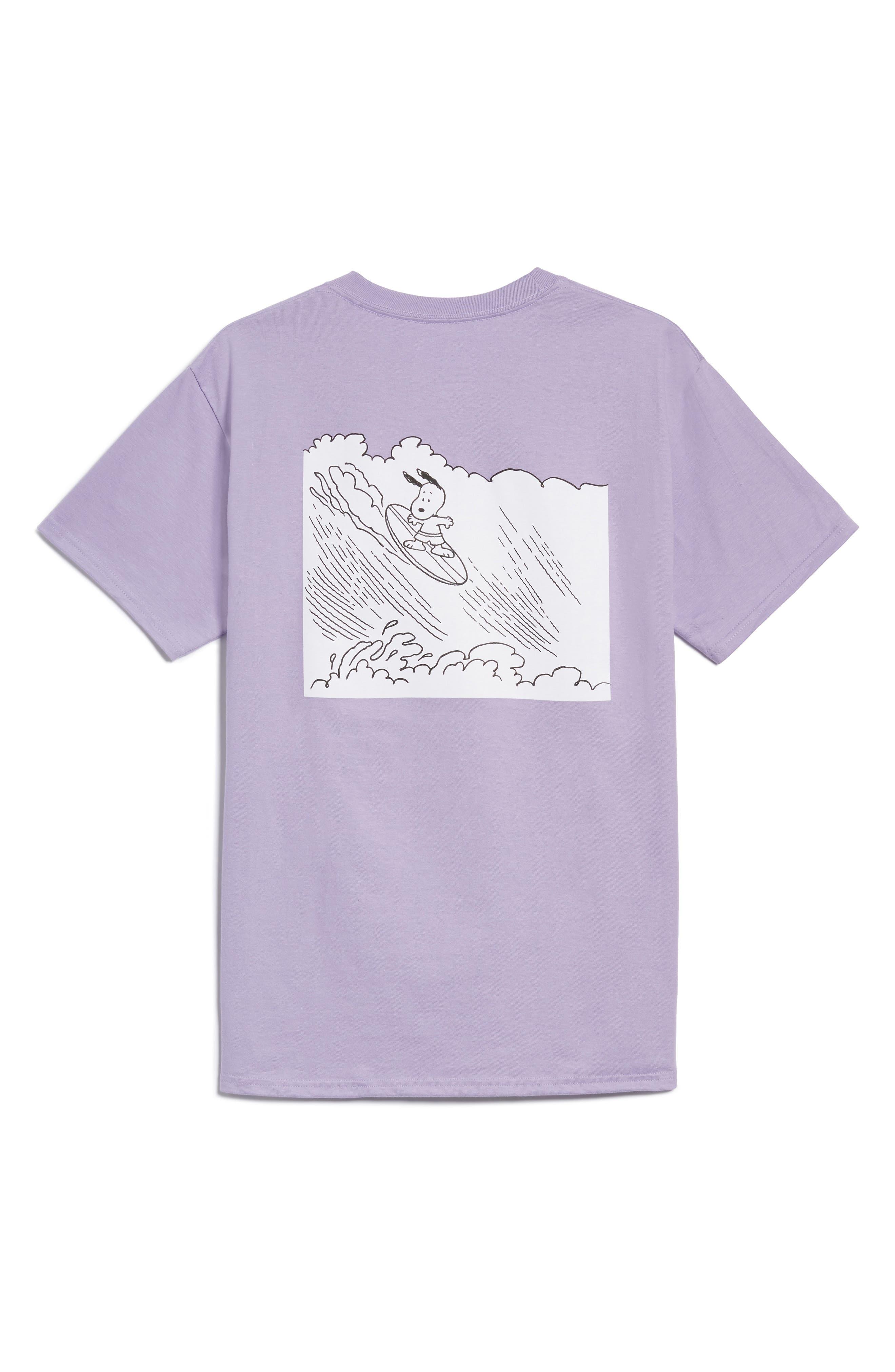 Peanuts Snoopy Surf T-Shirt,                             Main thumbnail 1, color,                             510
