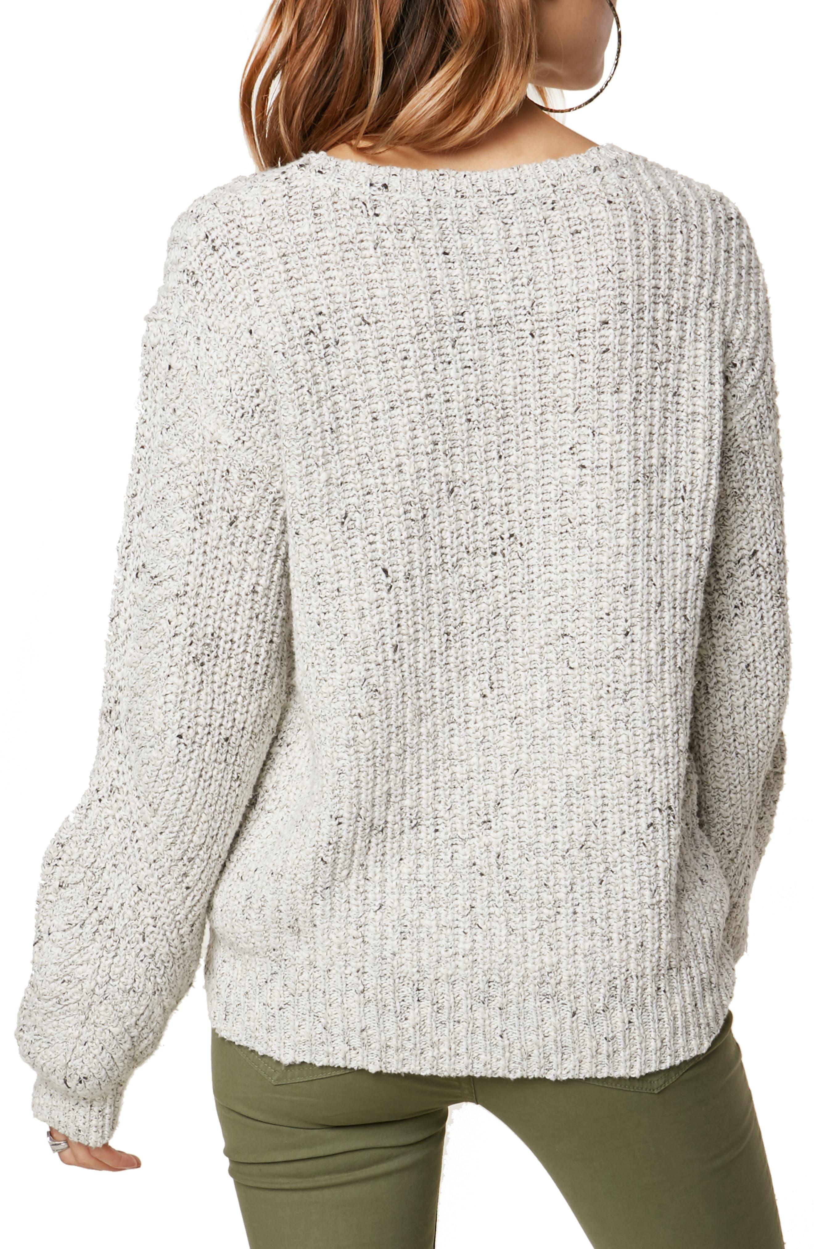 Sailor Cotton Blend Sweater,                             Alternate thumbnail 2, color,                             100