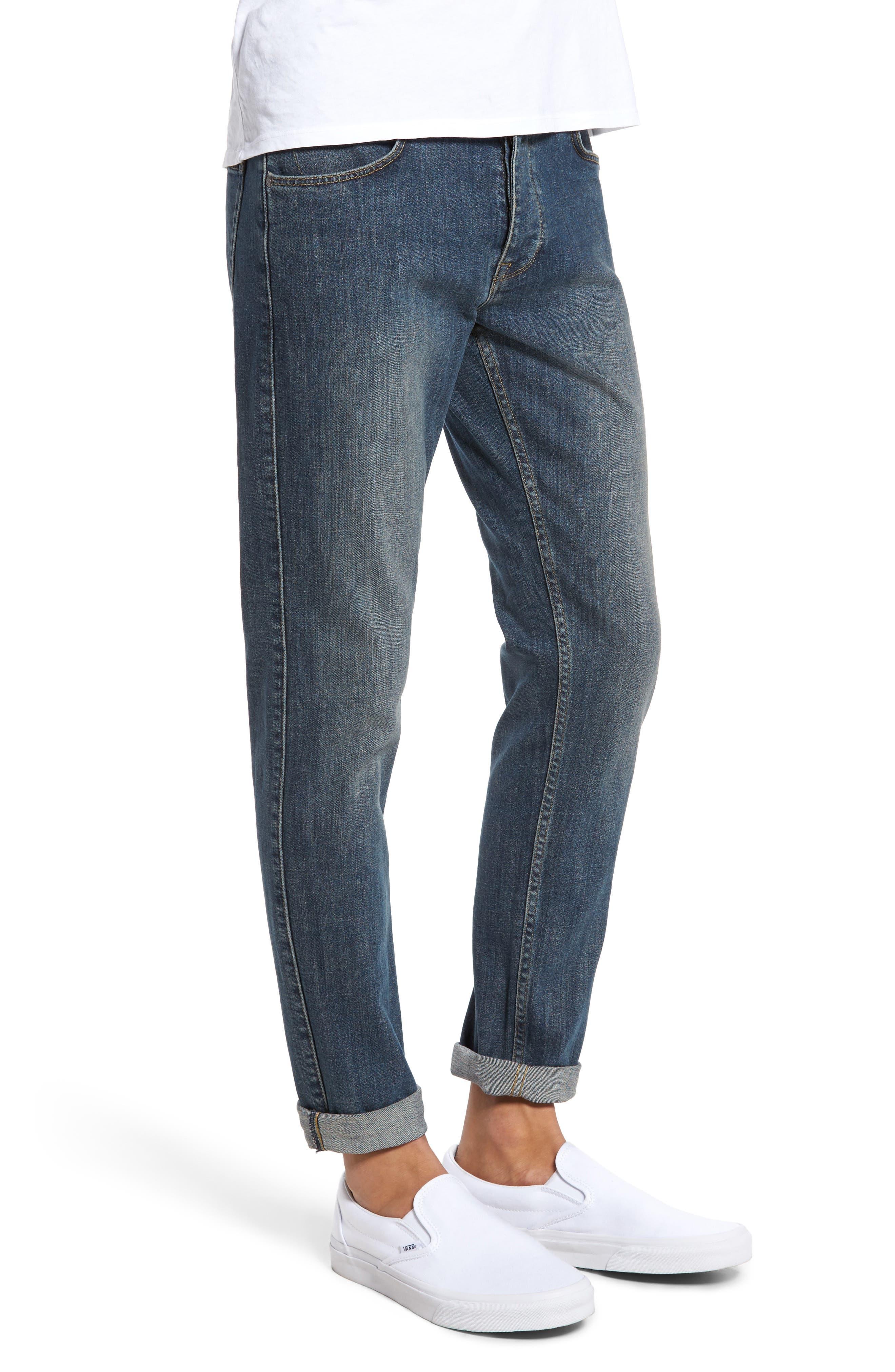 Clark Slim Straight Leg Jeans,                             Alternate thumbnail 3, color,                             400