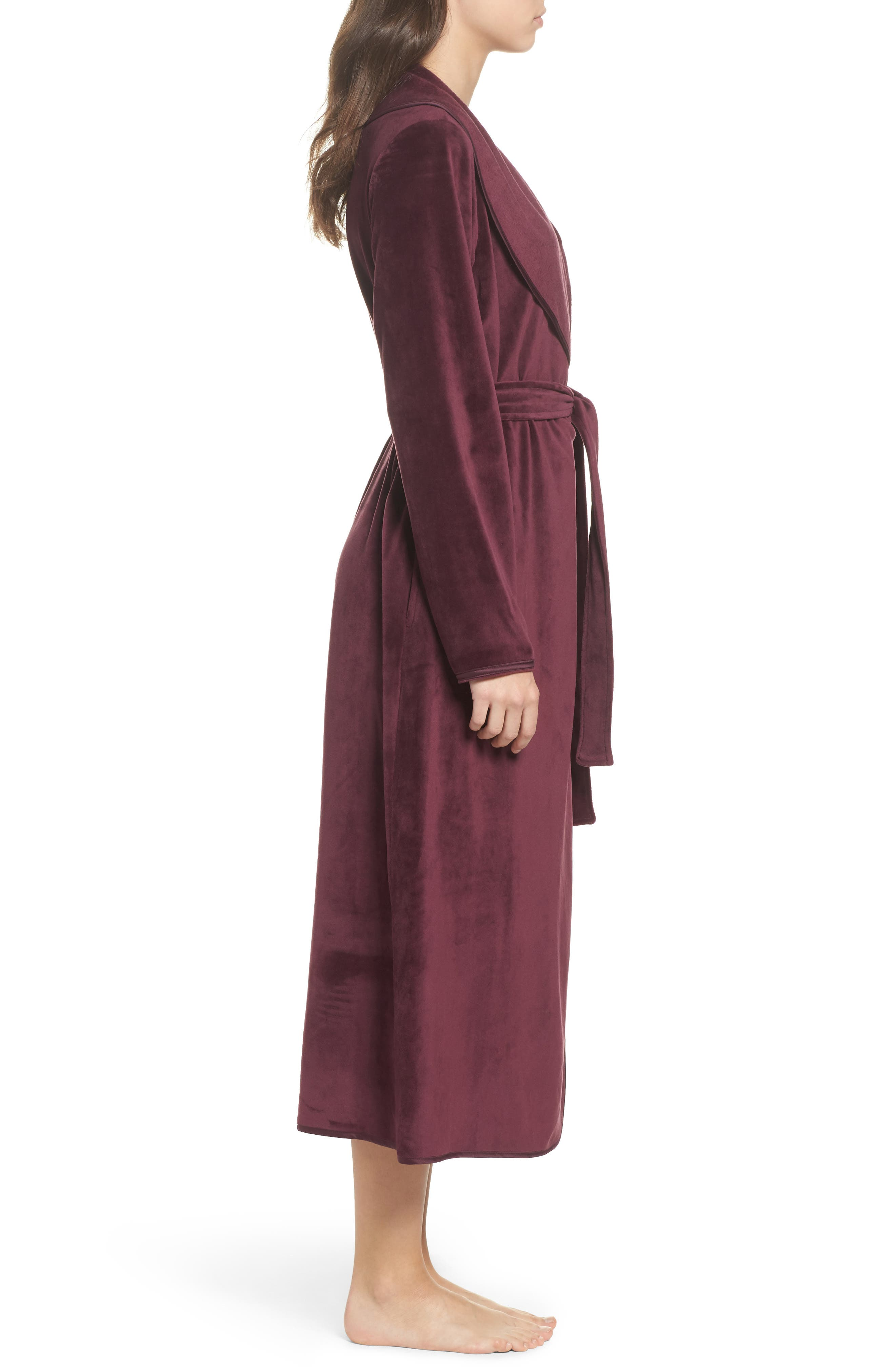 Luxe Shawl Robe,                             Alternate thumbnail 9, color,