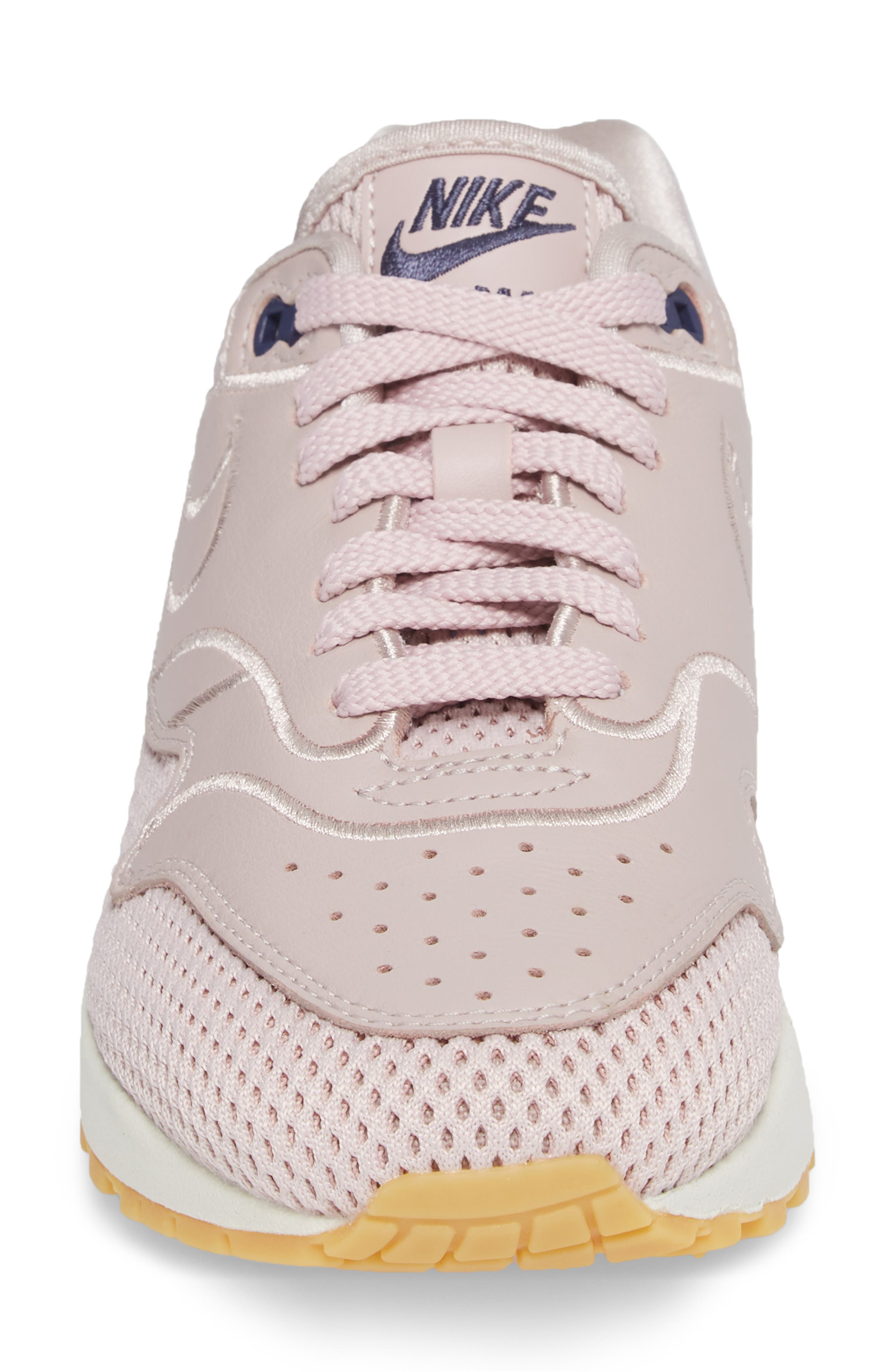 Air Max 1 SI Sneaker,                             Alternate thumbnail 4, color,                             PARTICLE ROSE/ PARTICLE ROSE