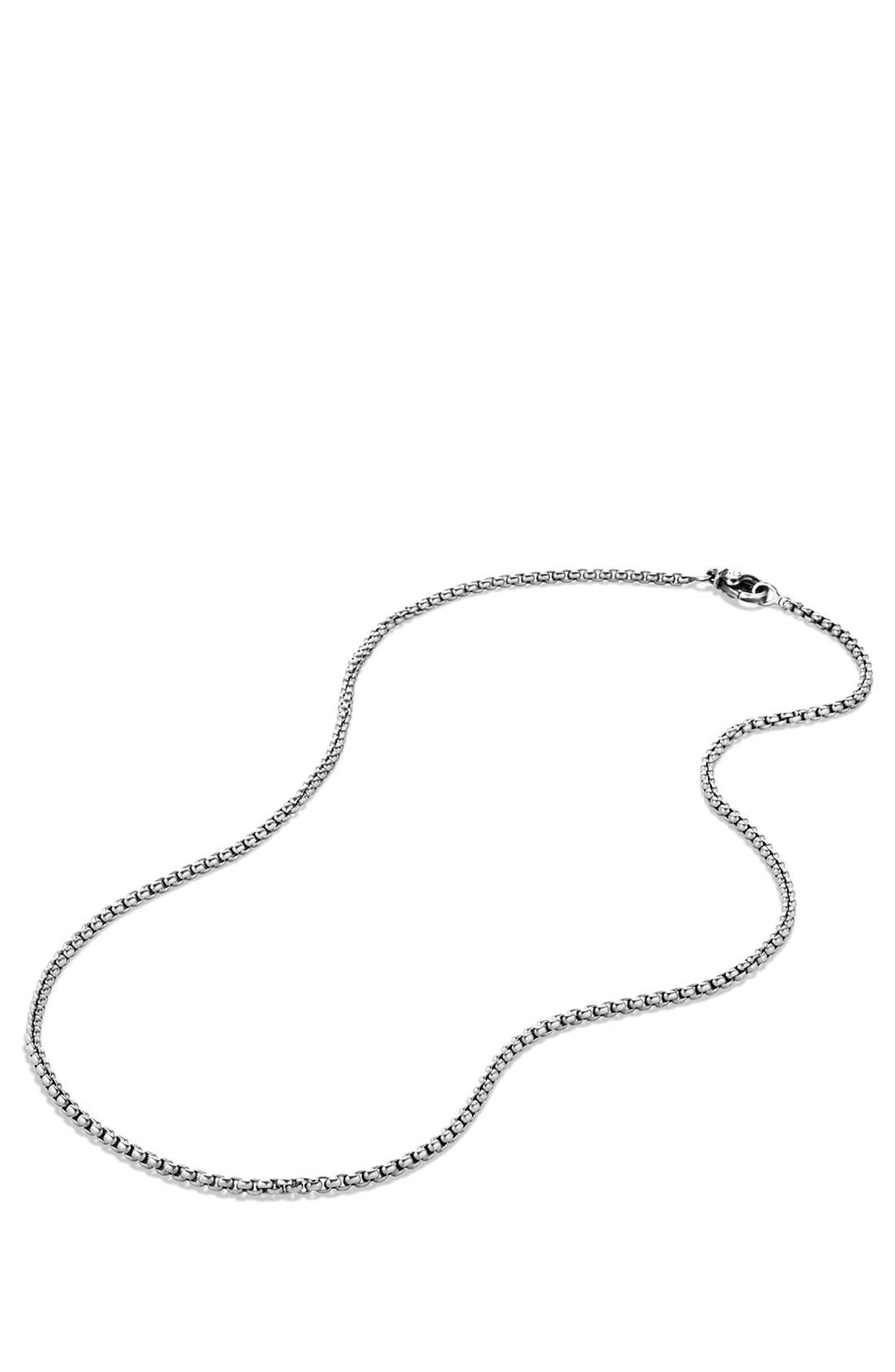 Small Box Chain Necklace,                             Alternate thumbnail 2, color,                             024