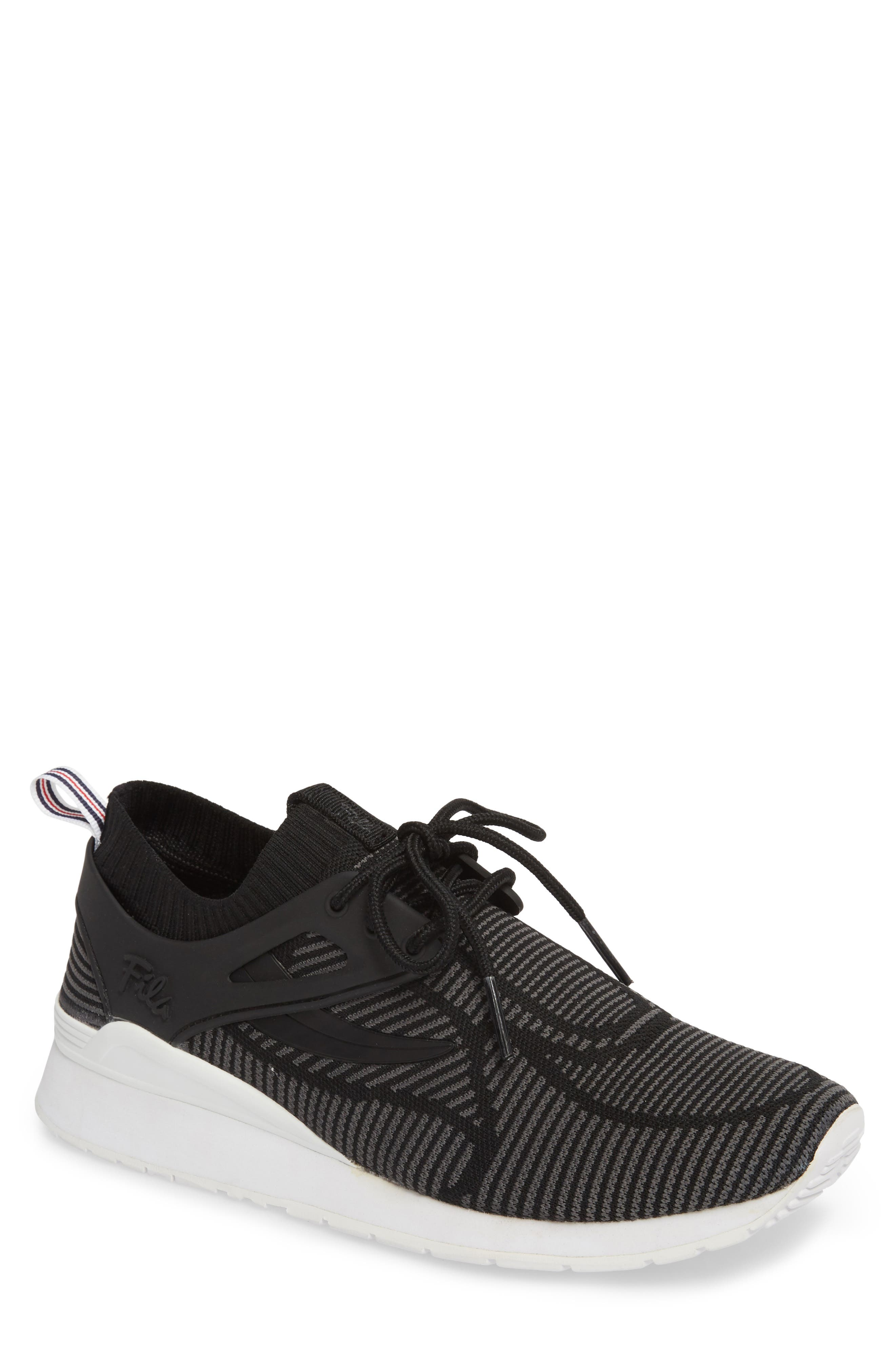 Overpass 2.0 Knit Sneaker,                             Main thumbnail 1, color,                             BLACK/ WHITE