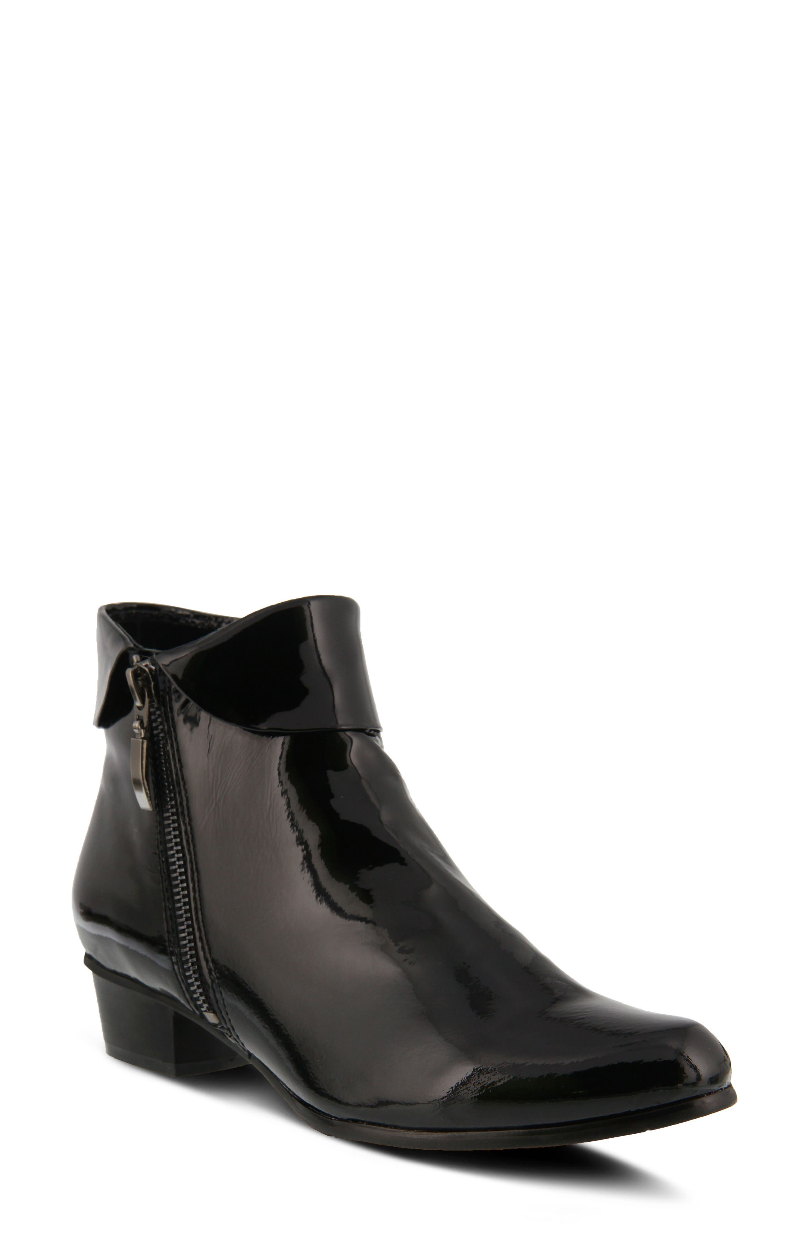 'Stockholm' Boot,                         Main,                         color, BLACK PATENT LEATHER