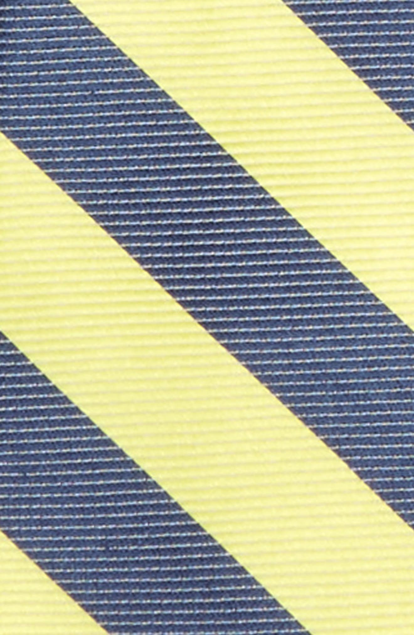 Stripe Silk & Cotton Zip Tie,                             Alternate thumbnail 2, color,                             700