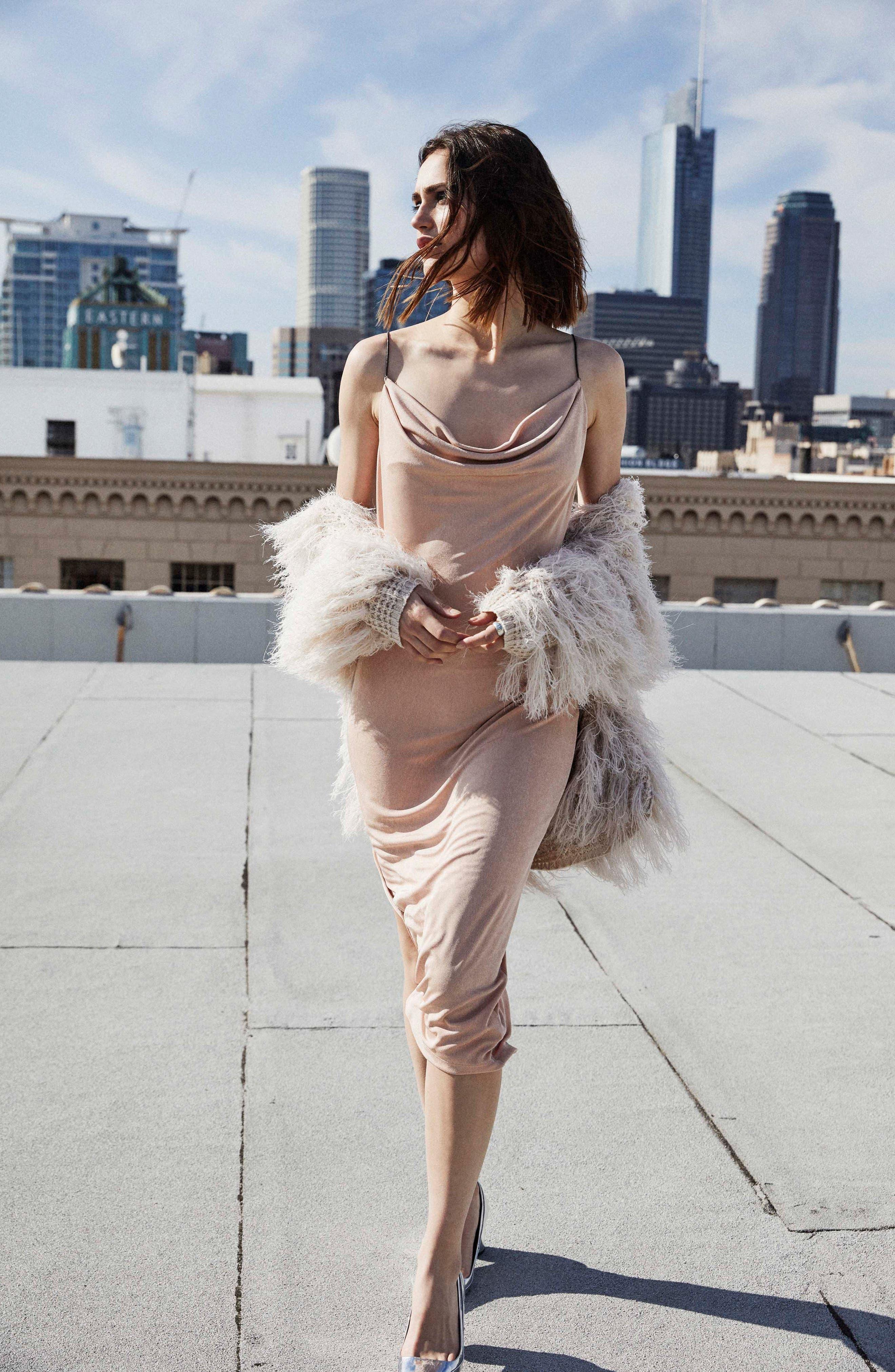 Ivana Midi Dress,                             Alternate thumbnail 17, color,
