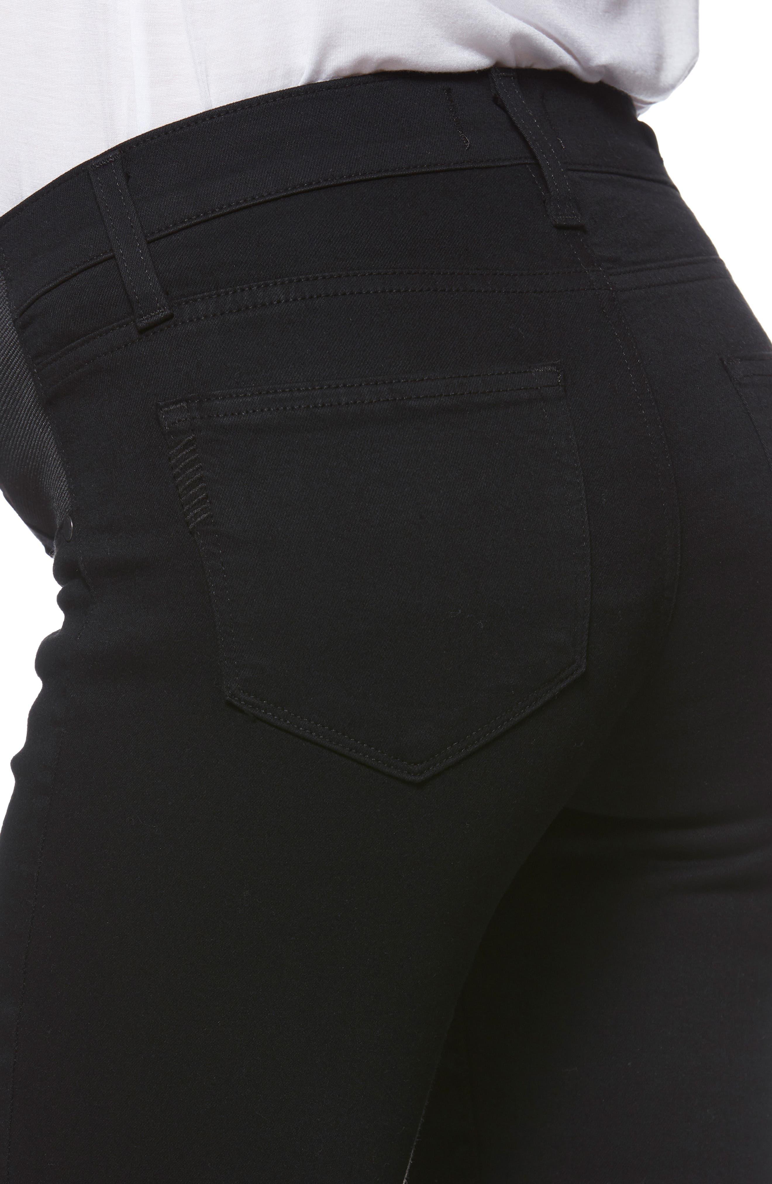 'Transcend - Verdugo Ultra Skinny Maternity Jeans,                             Alternate thumbnail 7, color,                             BLACK SHADOW