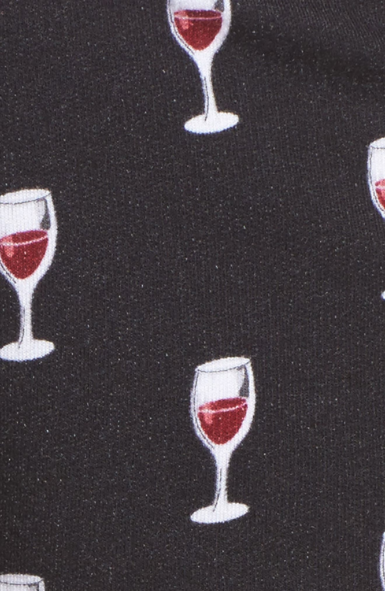 Print Pajama Shorts,                             Alternate thumbnail 5, color,                             001