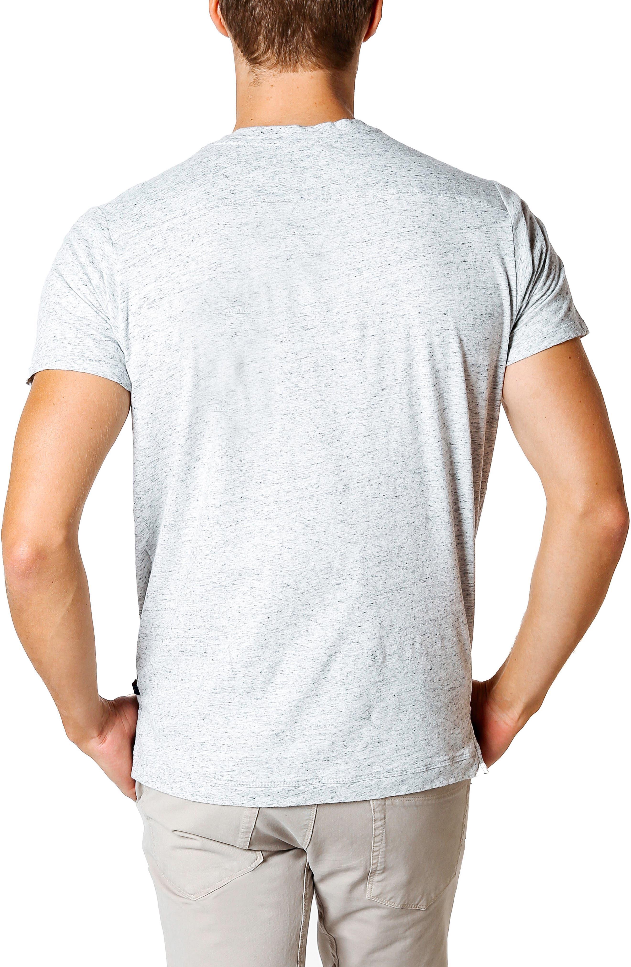 Slim Fit T-Shirt,                             Alternate thumbnail 2, color,                             GREY HEATHER