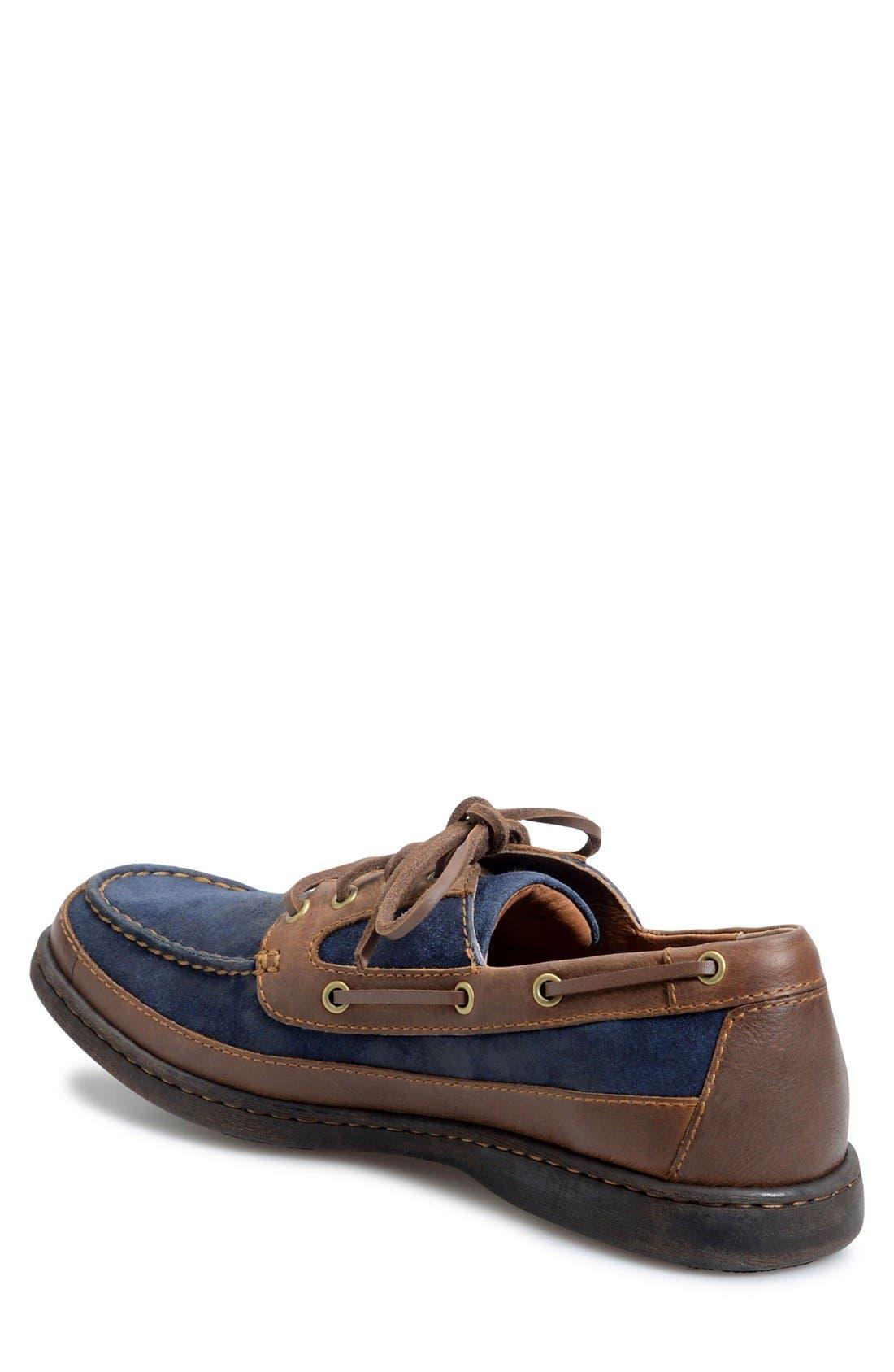 'Harwich' Boat Shoe,                             Alternate thumbnail 6, color,