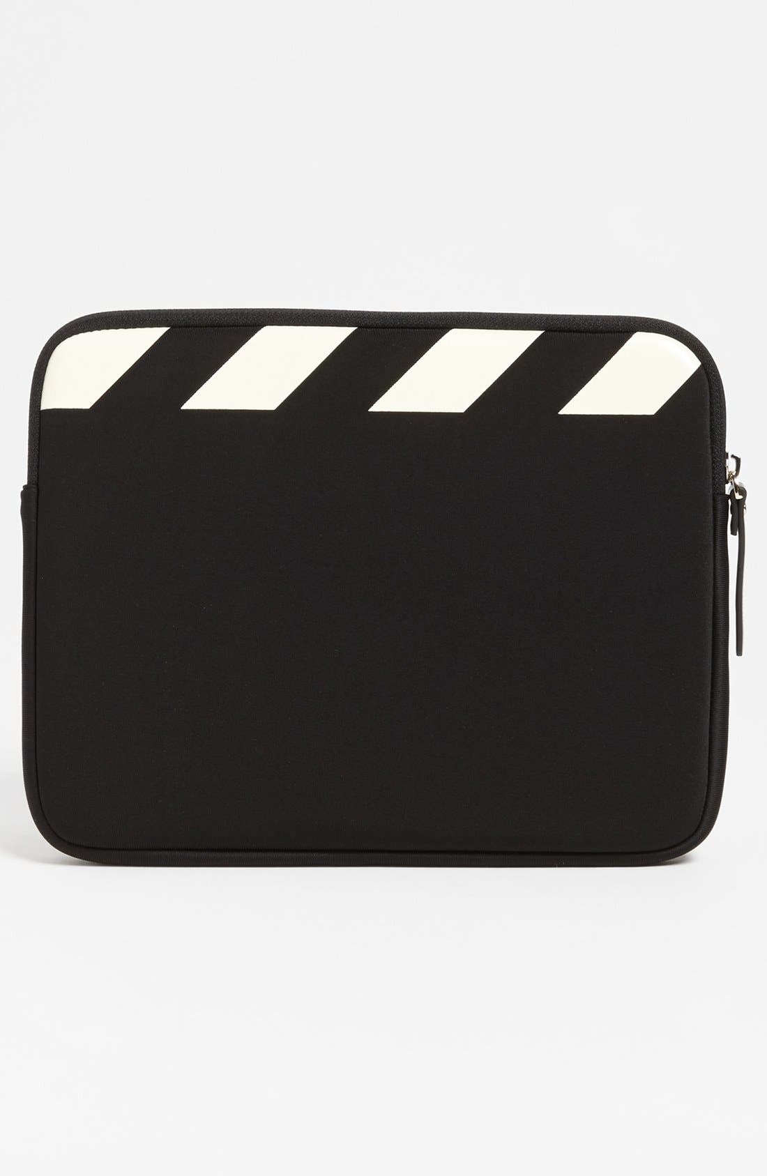 'director's clapboard' iPad sleeve,                             Alternate thumbnail 4, color,                             005