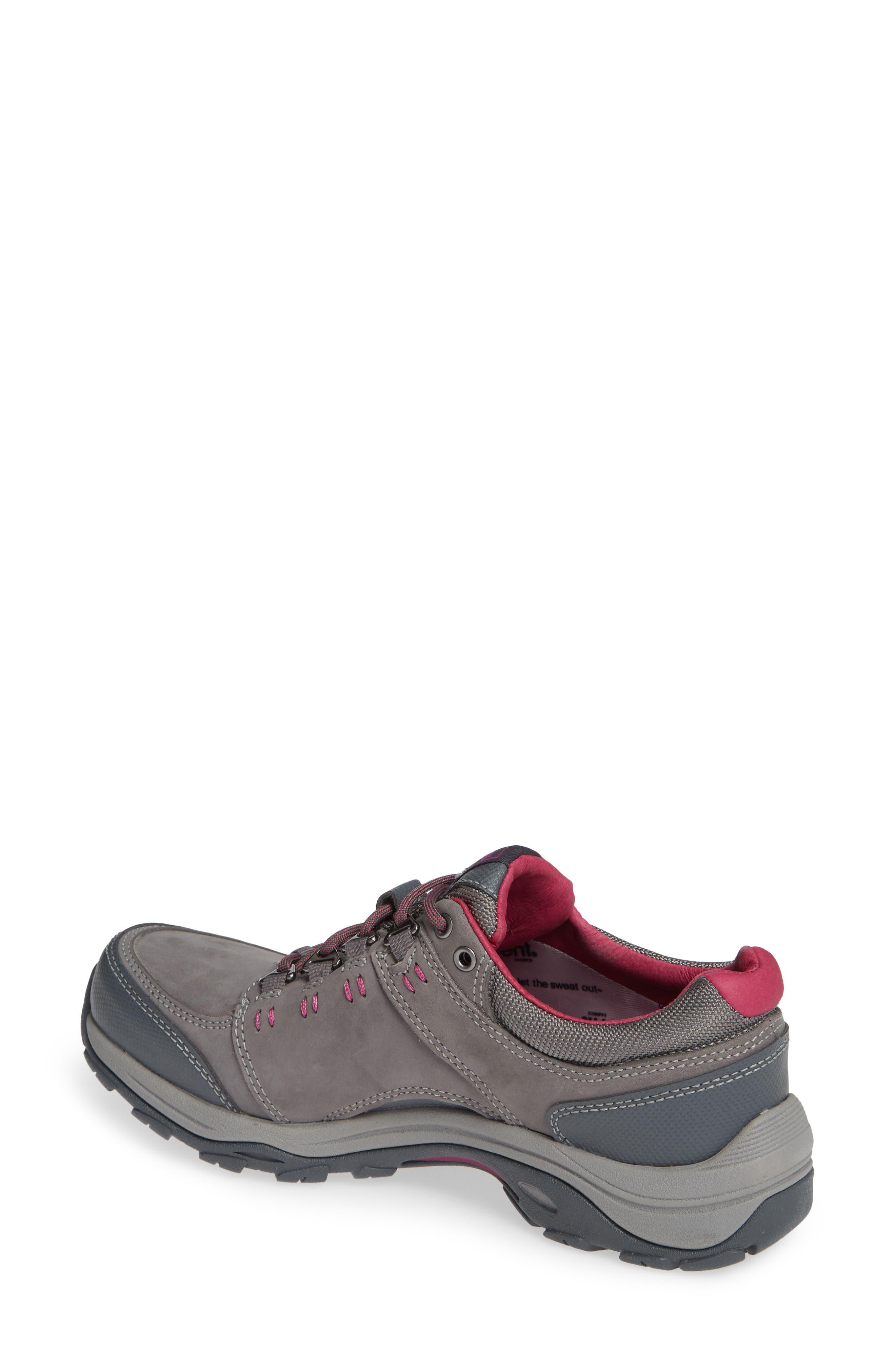 TEVA,                             Ahnu by Teva Montara III Waterproof Hiking Sneaker,                             Alternate thumbnail 2, color,                             CHARCOAL GRAY NUBUCK LEATHER