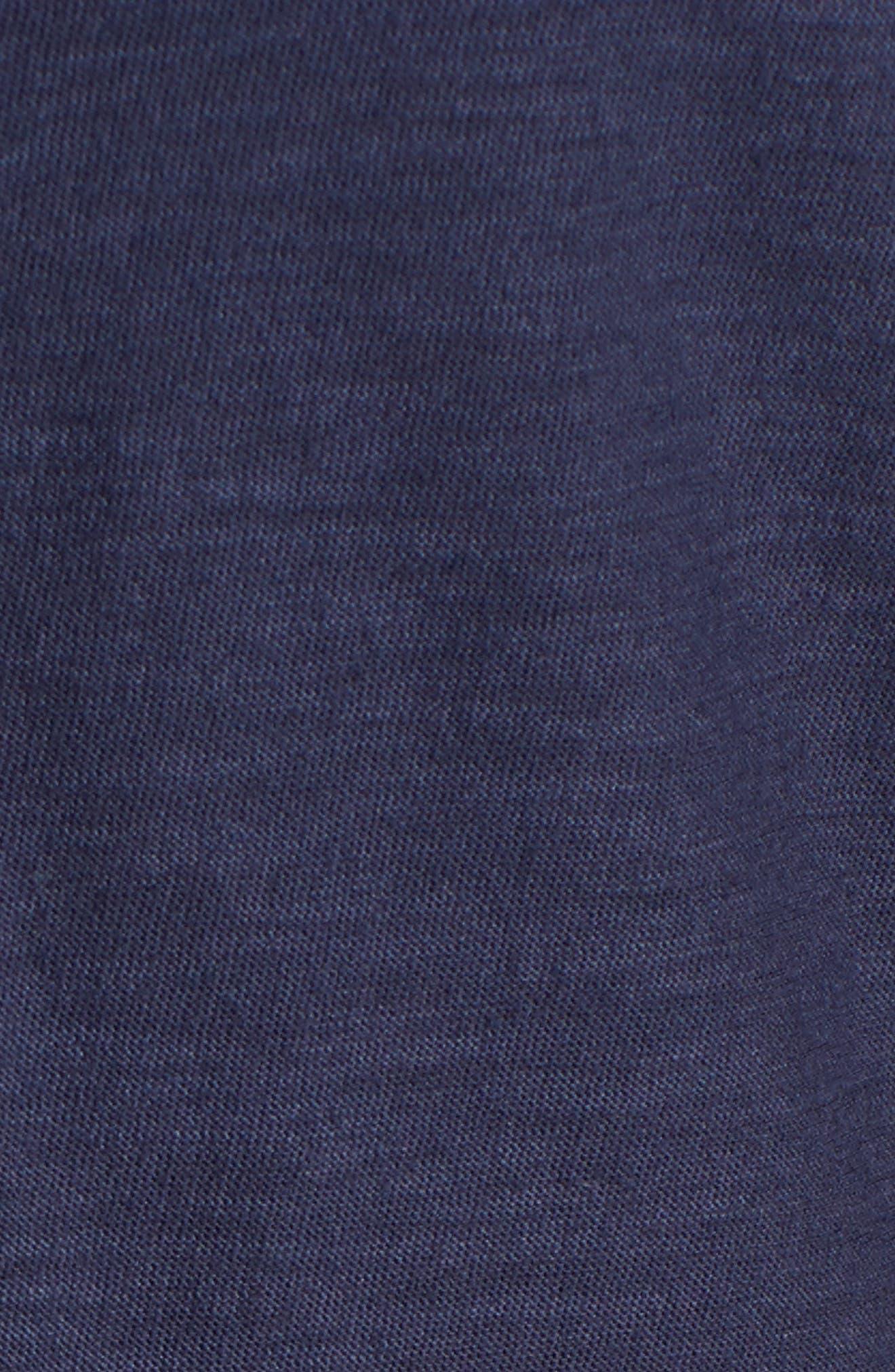 Arden Pleat Jersey Sundress,                             Alternate thumbnail 5, color,                             400