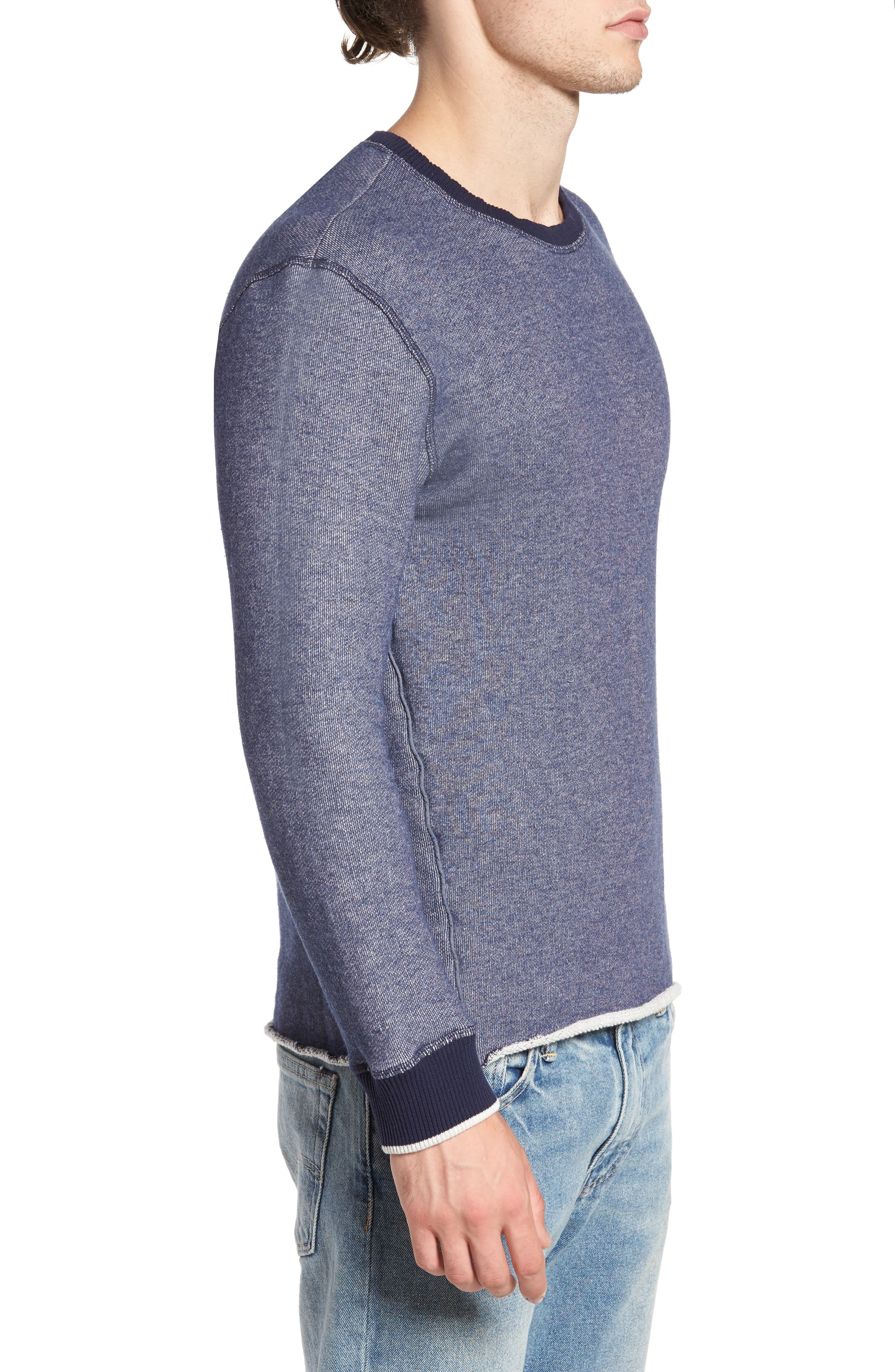 Twisted Pullover,                             Alternate thumbnail 3, color,