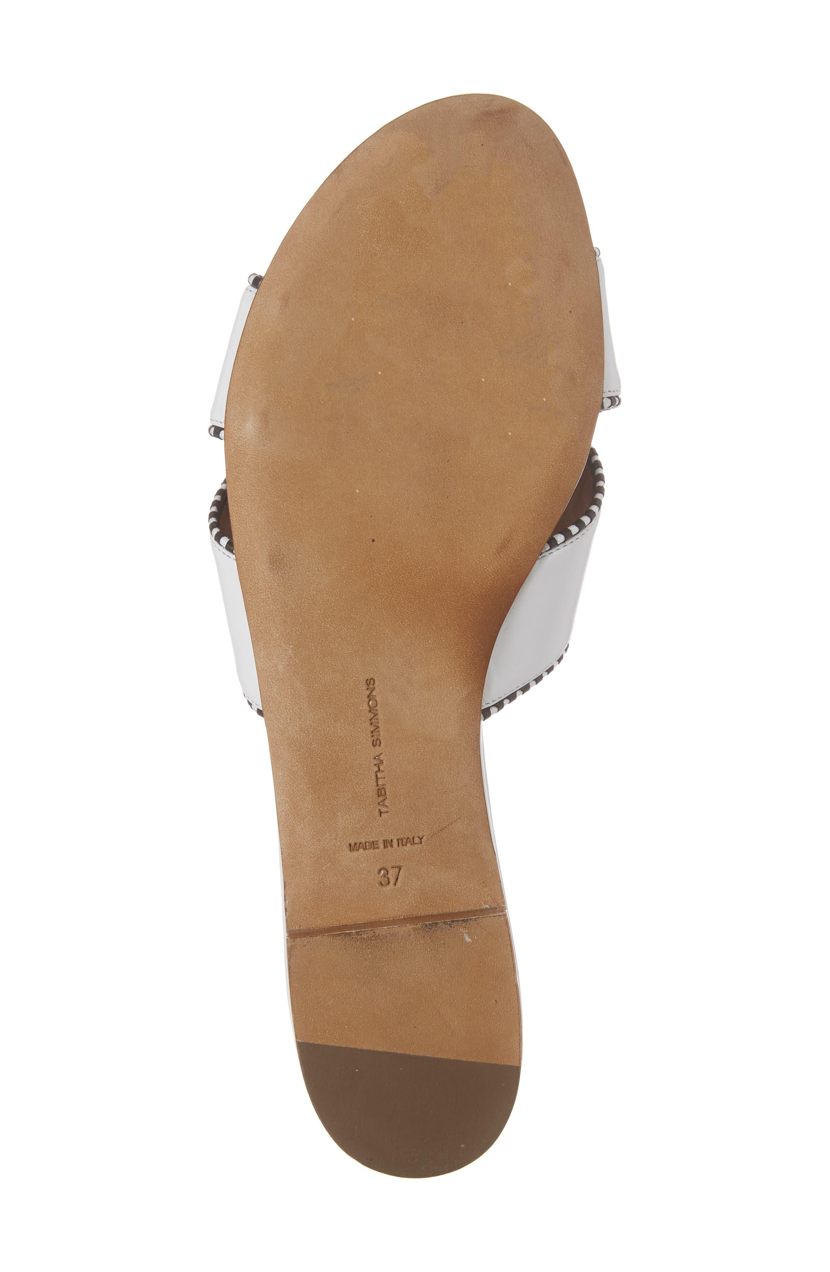 Lassie Profilo Slide Sandal,                             Alternate thumbnail 6, color,                             100