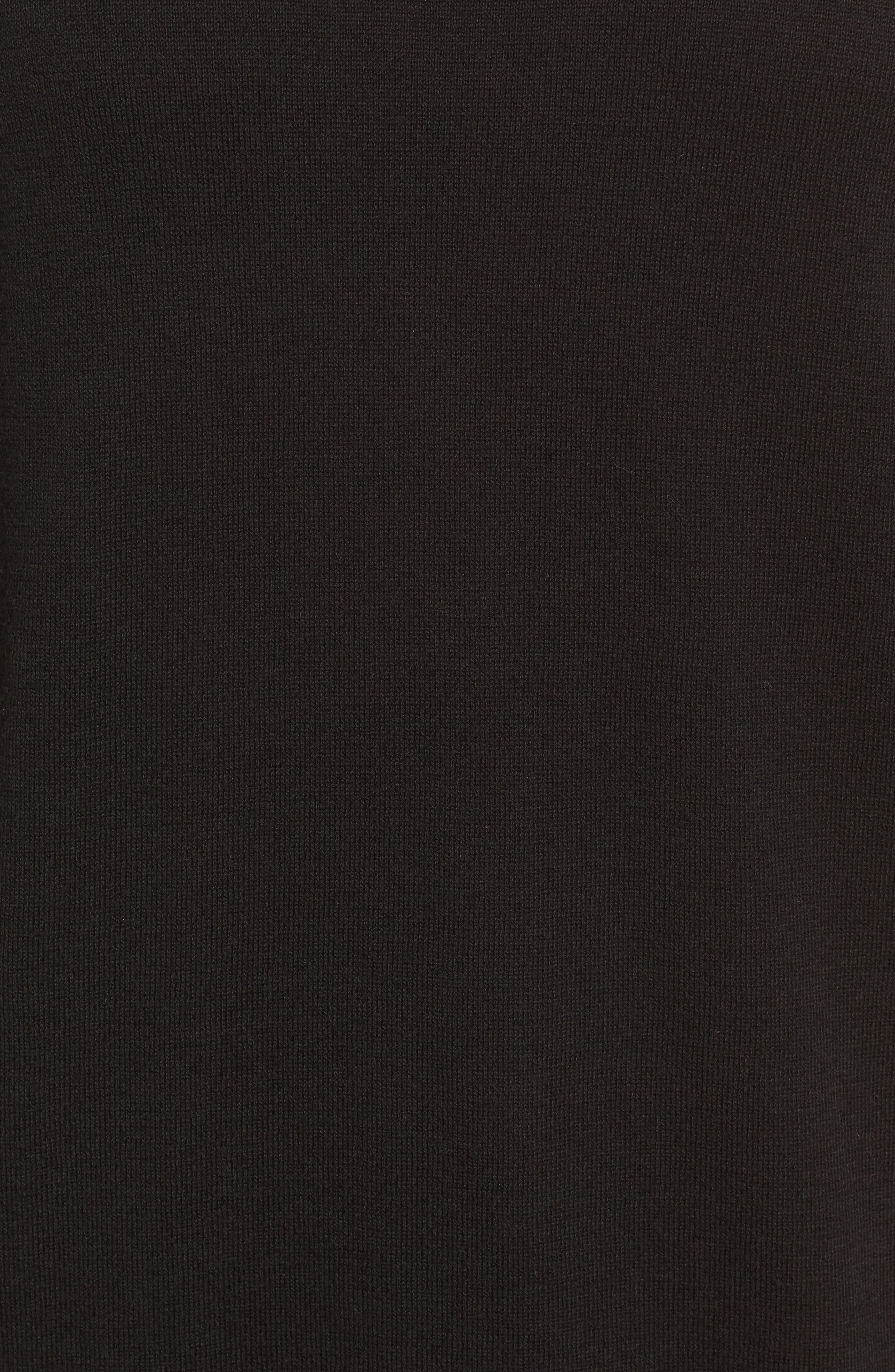 Poplin Bow Detail Sweater,                             Alternate thumbnail 9, color,