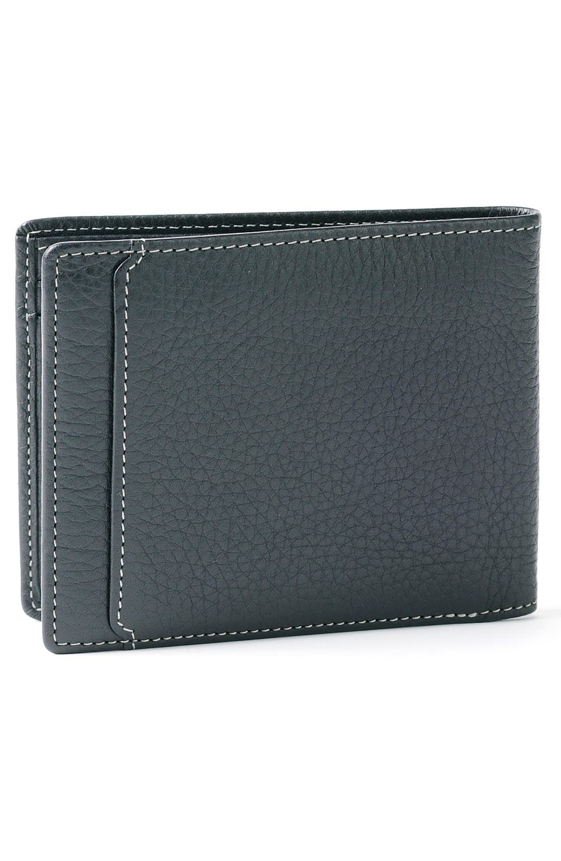 'Tyler' RFID Wallet,                             Alternate thumbnail 3, color,                             BLACK