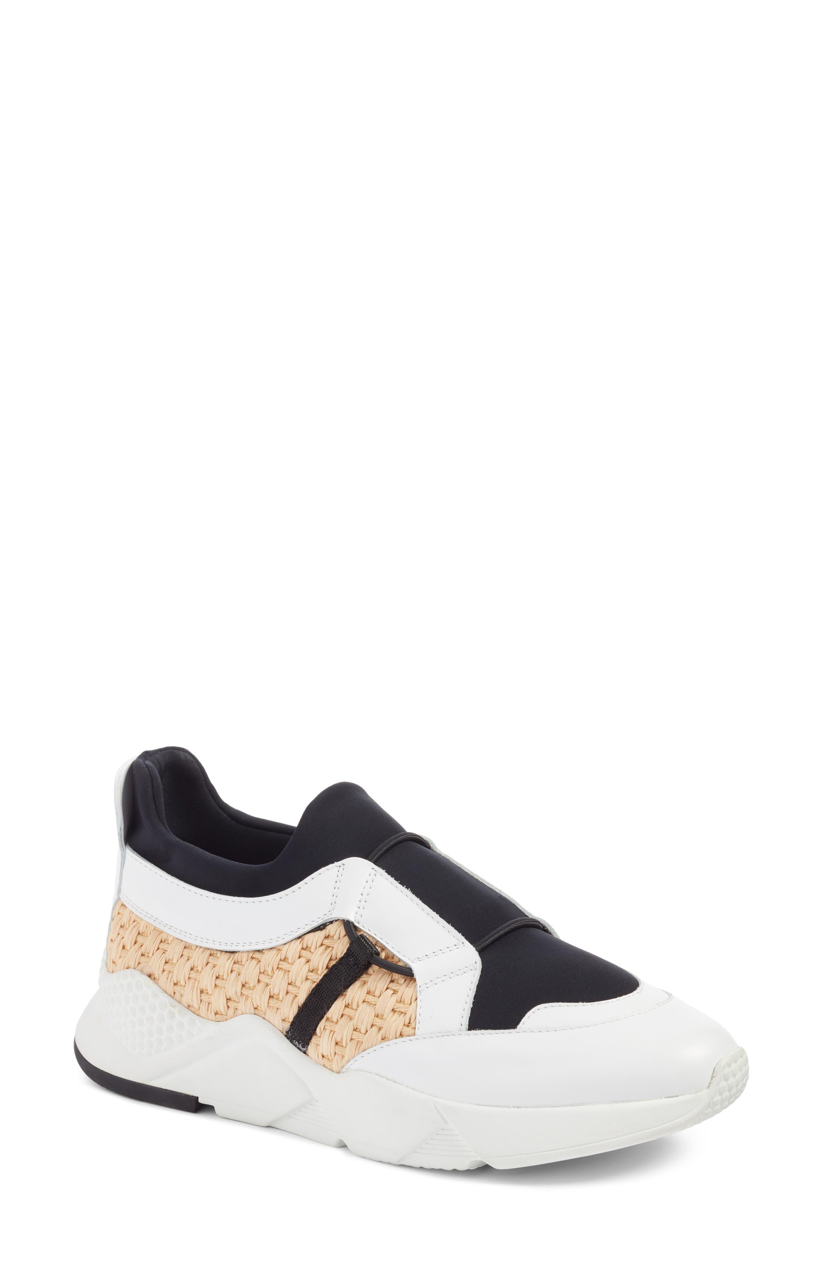 Salvy Woven Sneaker,                         Main,                         color, 100