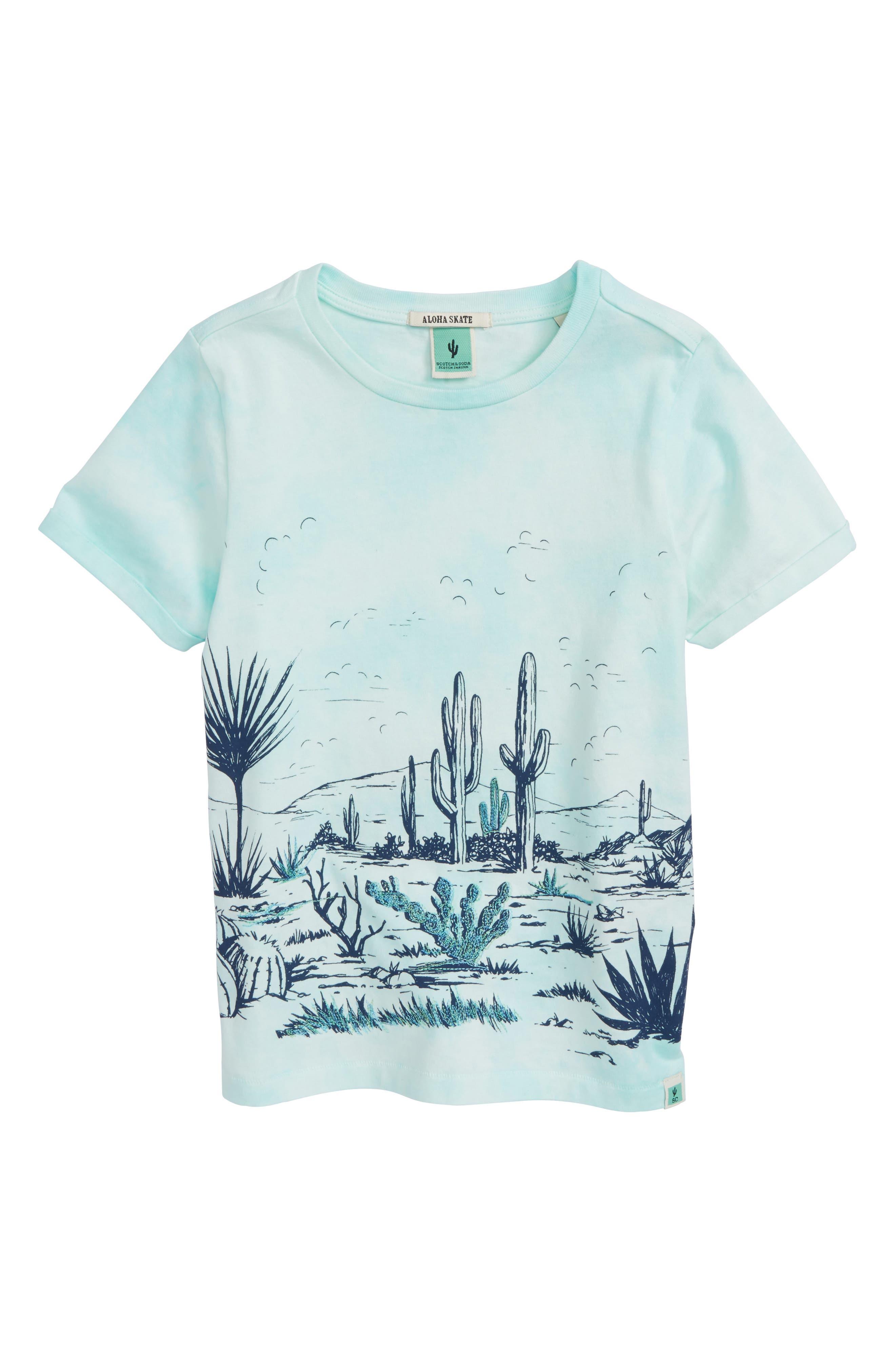 Desert Tie Dye T-Shirt,                         Main,                         color, 440