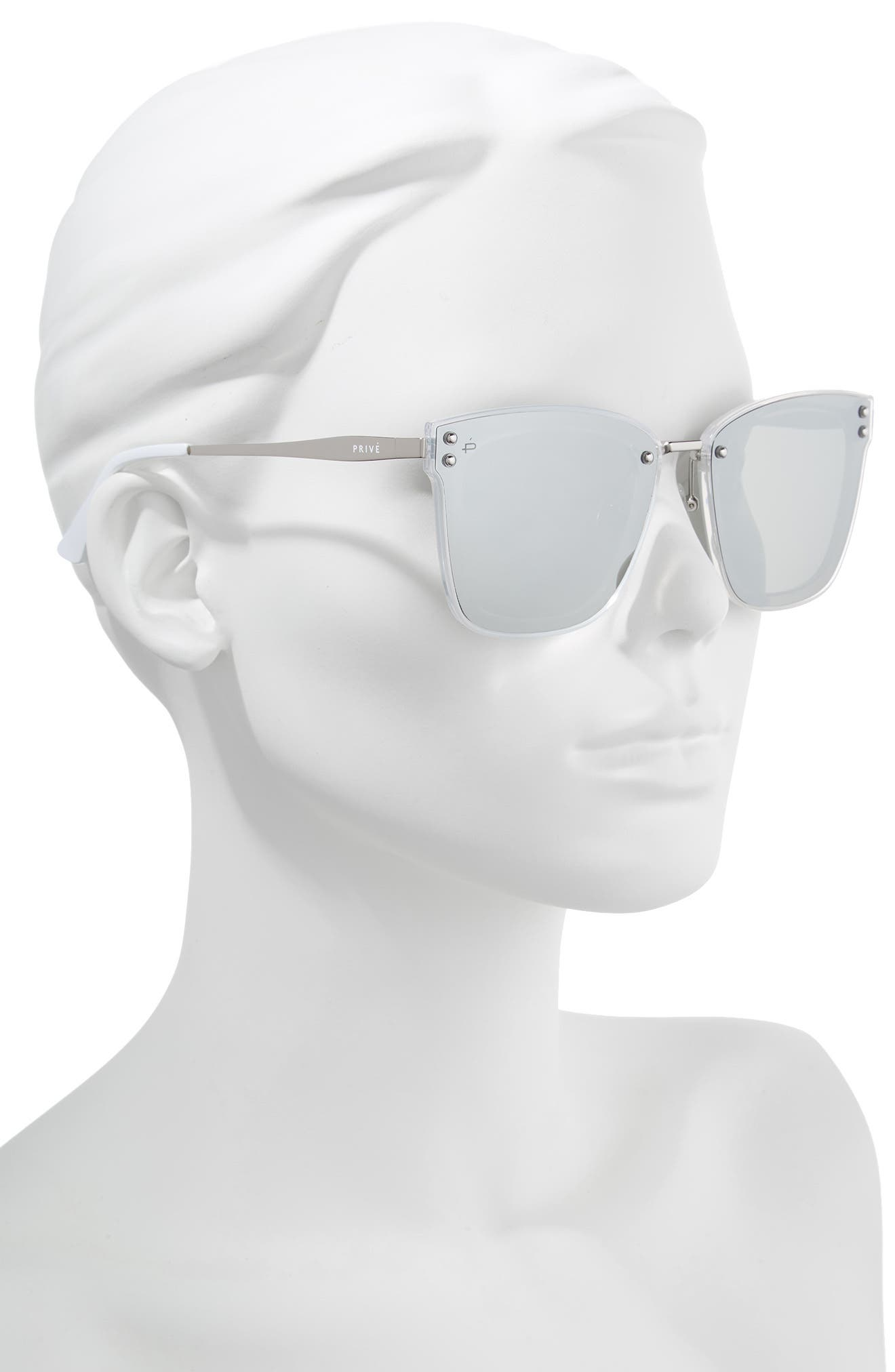 The Nasty Woman 50mm Square Sunglasses,                             Alternate thumbnail 2, color,                             040
