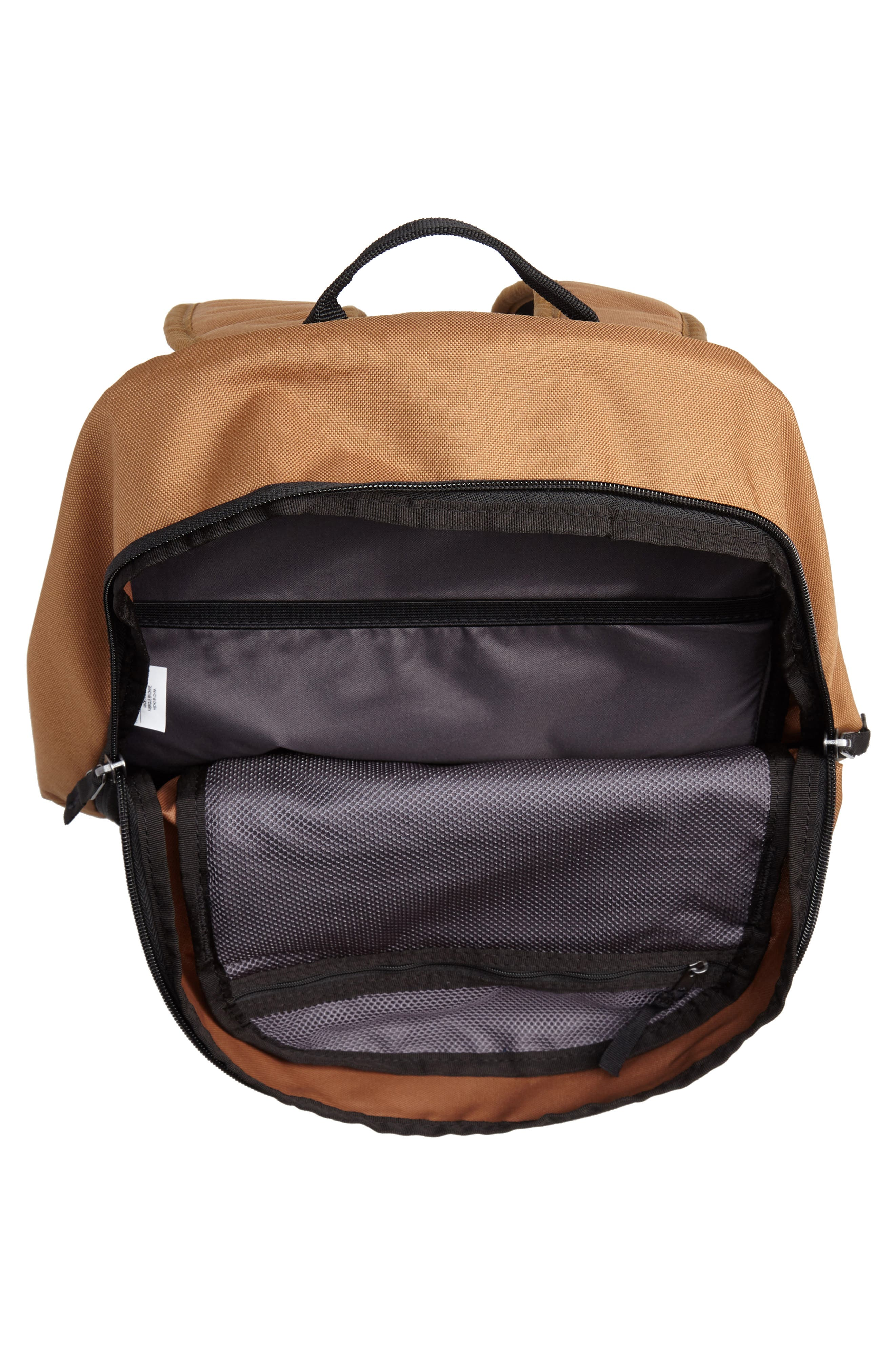 Courthouse Backpack,                             Alternate thumbnail 4, color,                             ALE BROWN