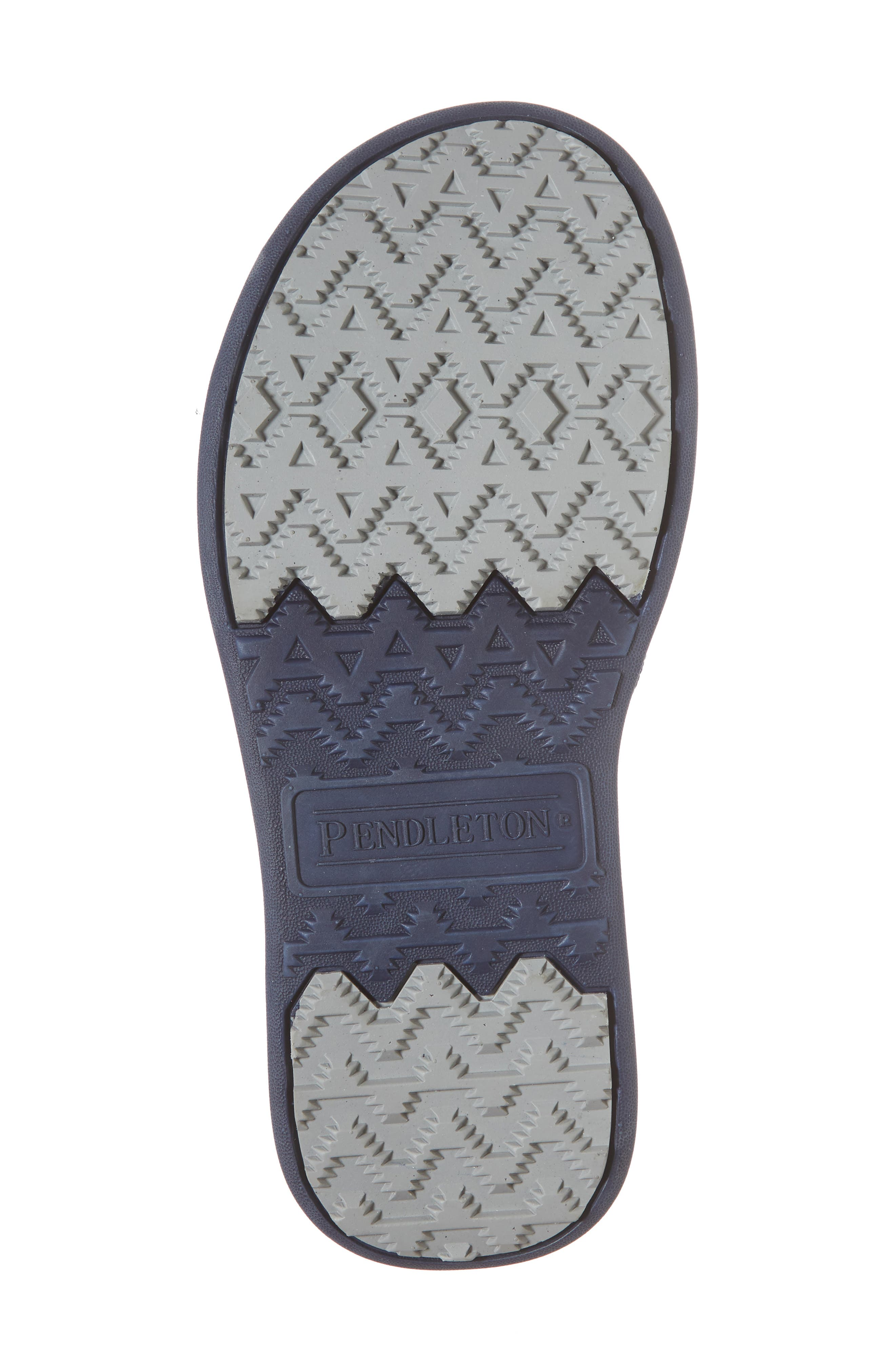 Pendleton American Treasures Flip Flop,                             Alternate thumbnail 6, color,                             NAVY
