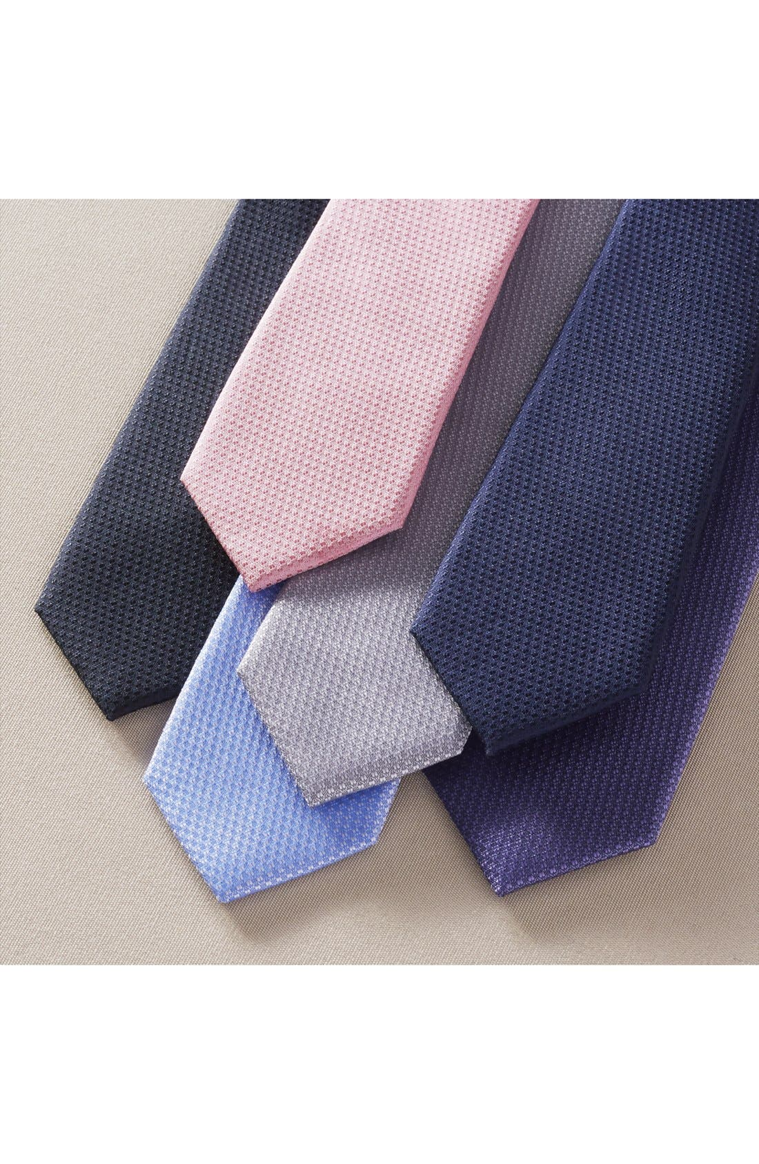 Seattle Textured Silk Tie,                             Alternate thumbnail 4, color,                             015