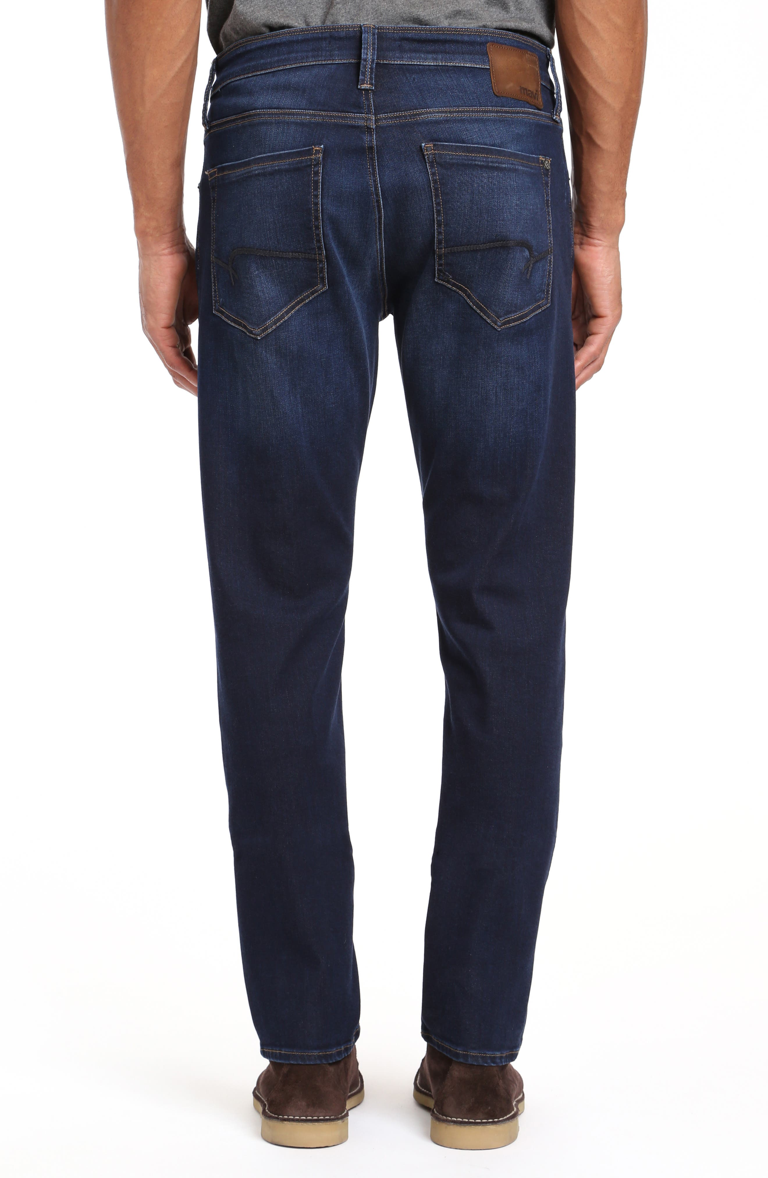 Marcus Slim Straight Leg Jeans,                             Alternate thumbnail 2, color,                             DEEP SOFT MOVE