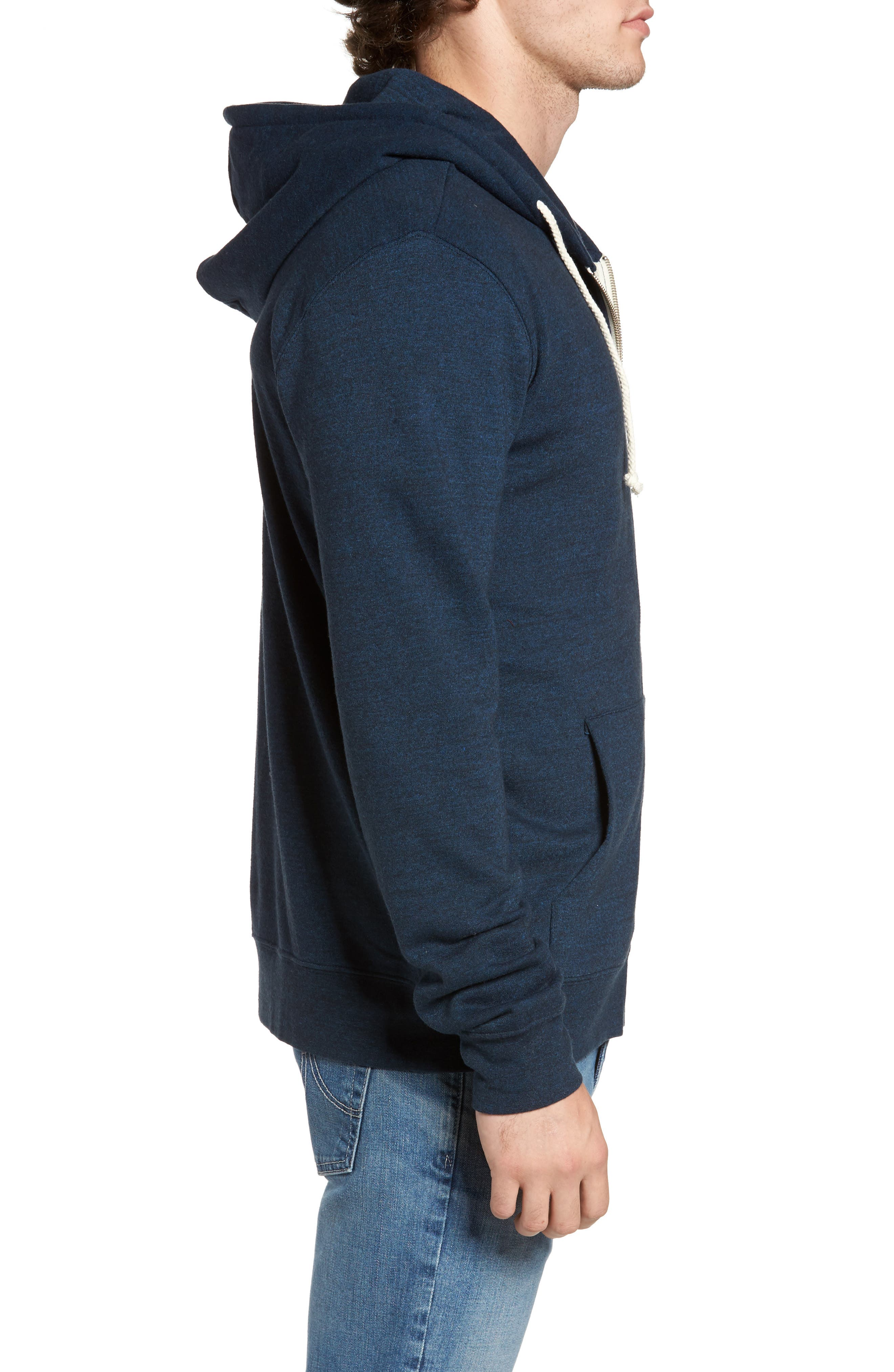Threads for Thought Trim Fit Heathered Hoodie,                             Alternate thumbnail 47, color,