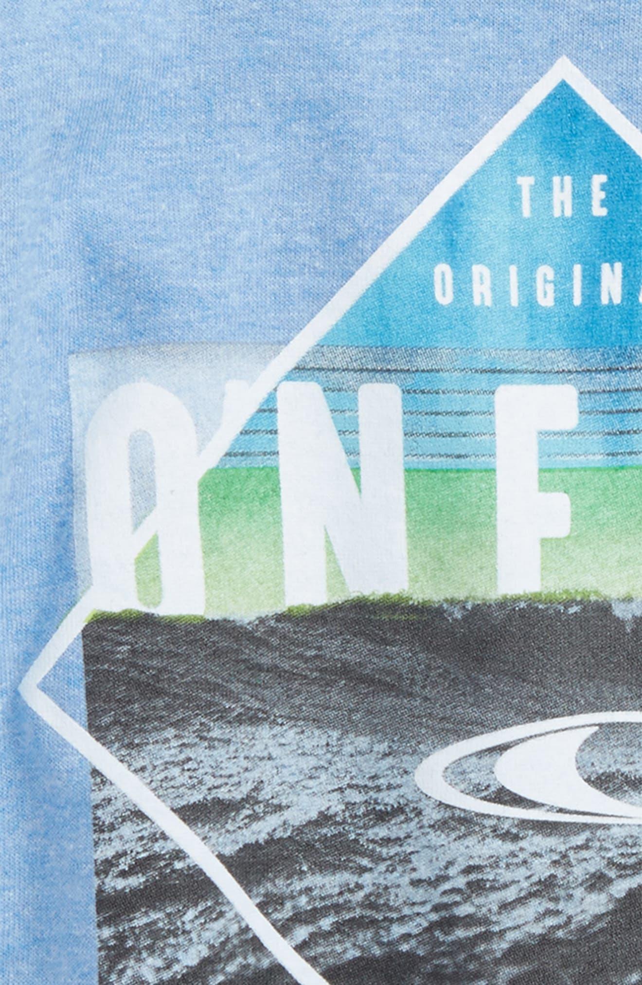 Black Pool Graphic T-Shirt,                             Alternate thumbnail 6, color,