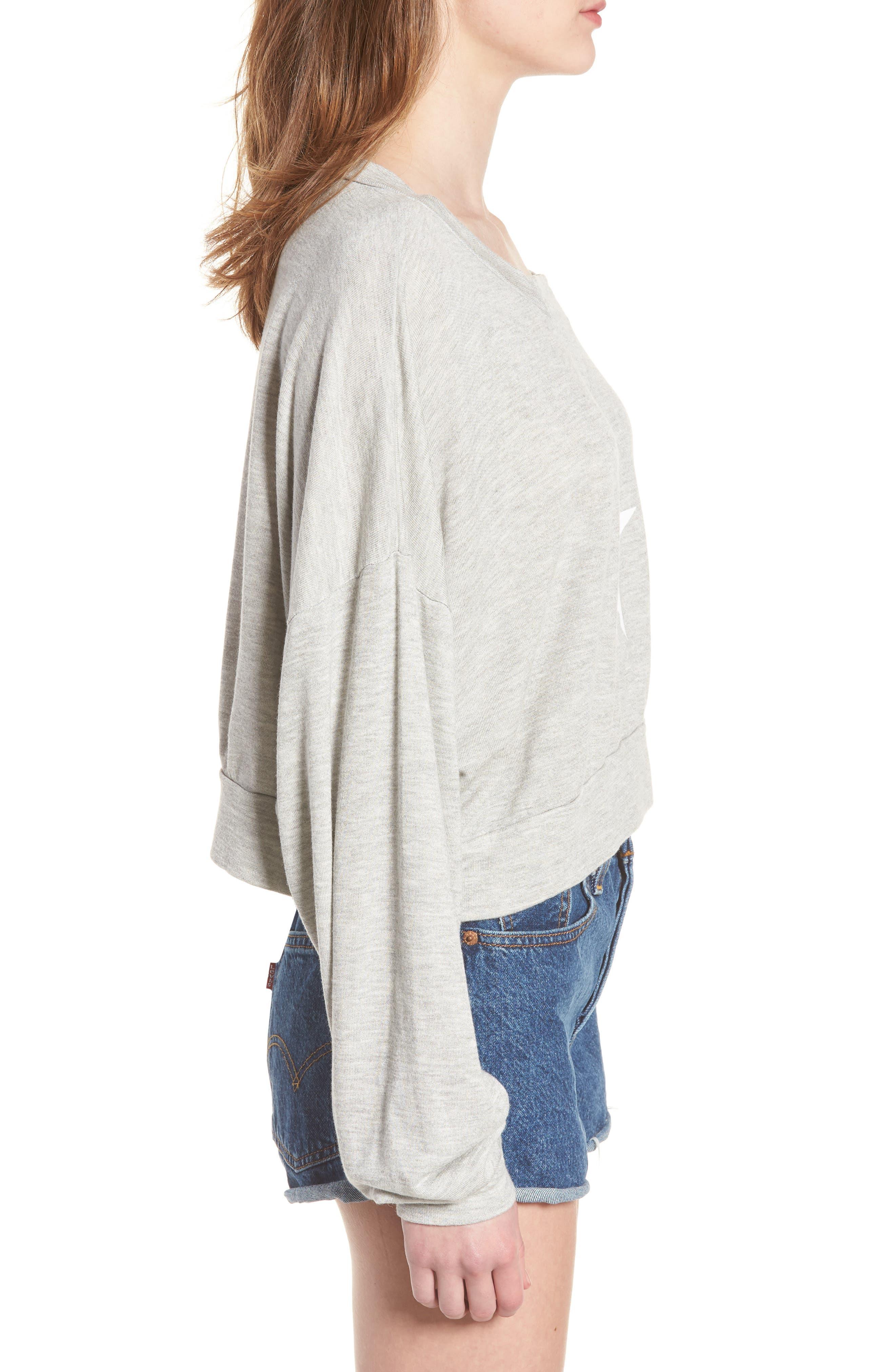 All Star Nella Pullover Sweatshirt,                             Alternate thumbnail 3, color,                             020