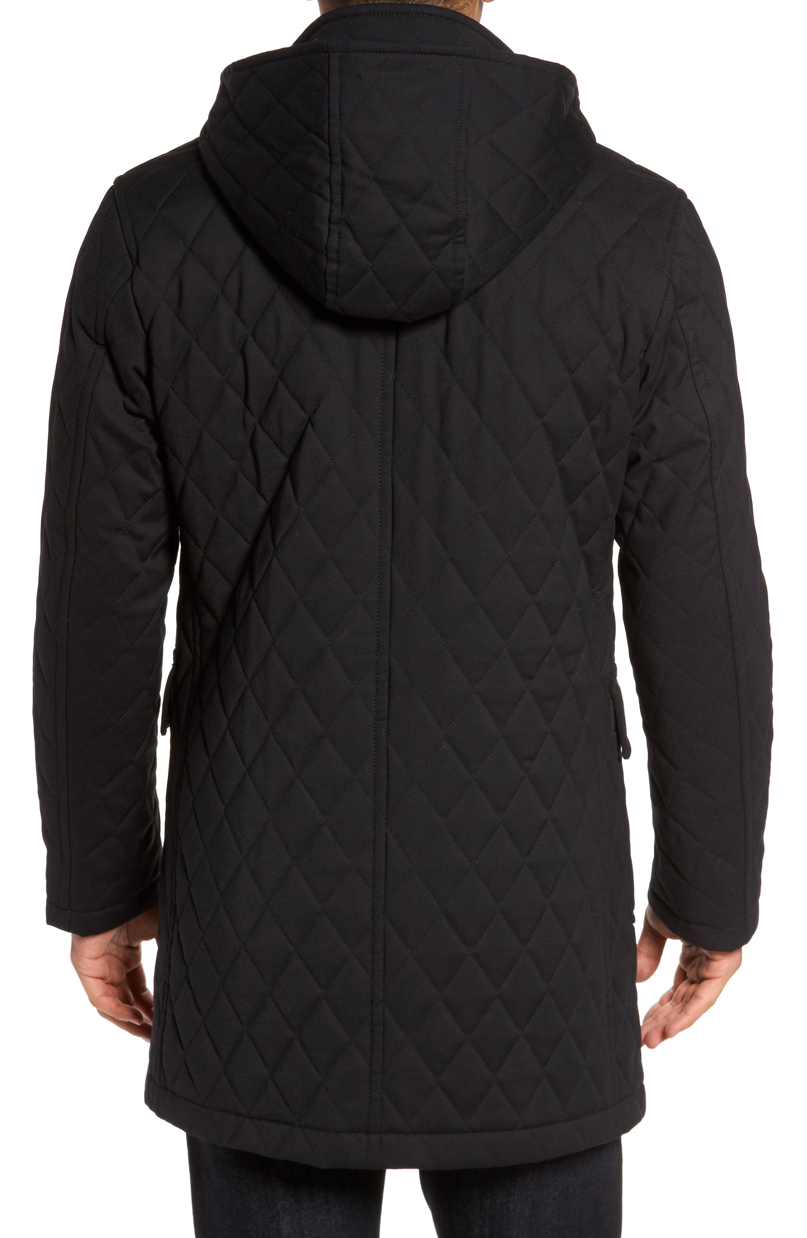 Francisco Quilted Duffle Coat,                             Alternate thumbnail 2, color,                             009